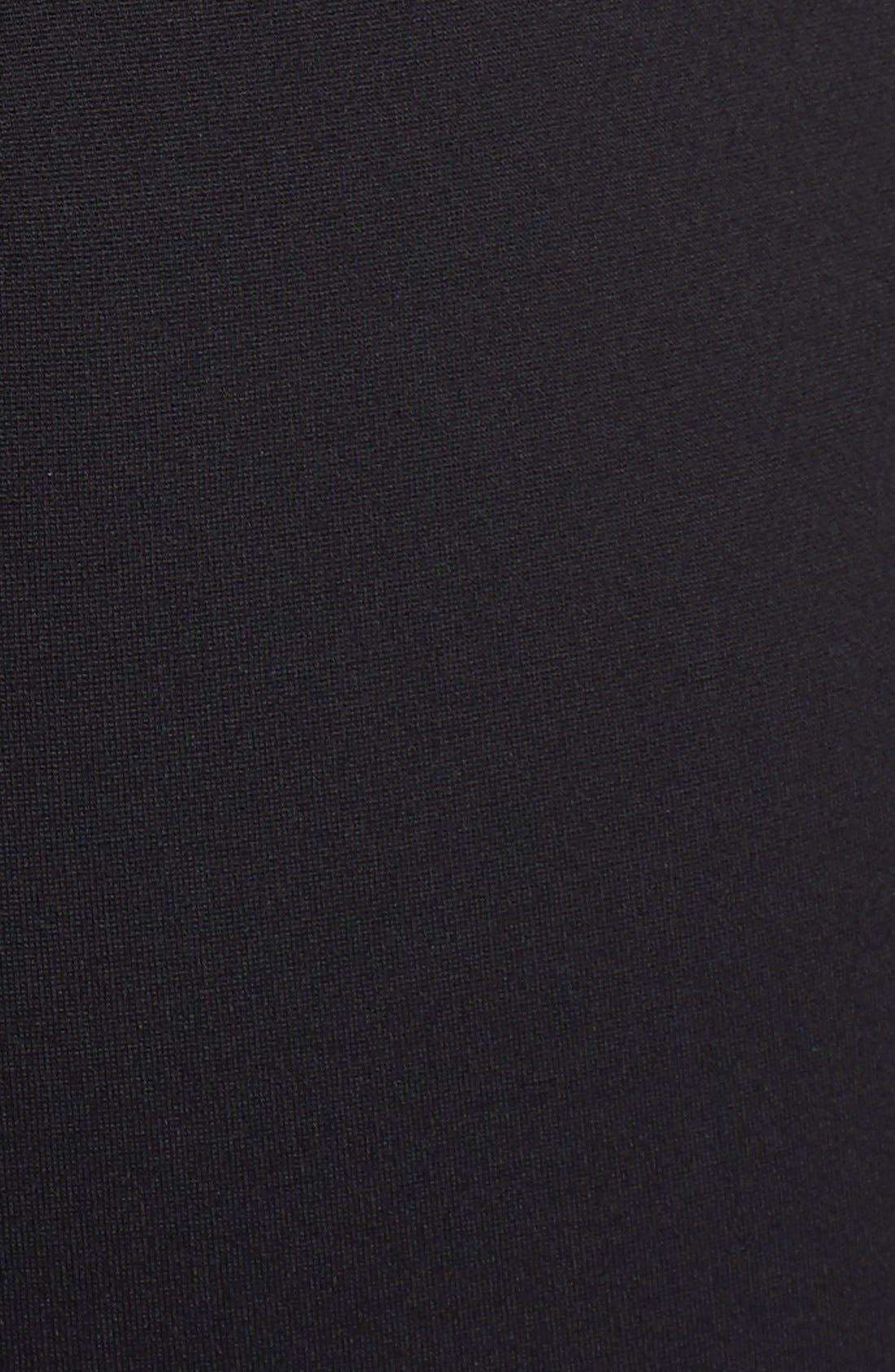Alternate Image 4  - Elliatt 'Secrets' Illusion Yoke Ponte Body-Con Dress