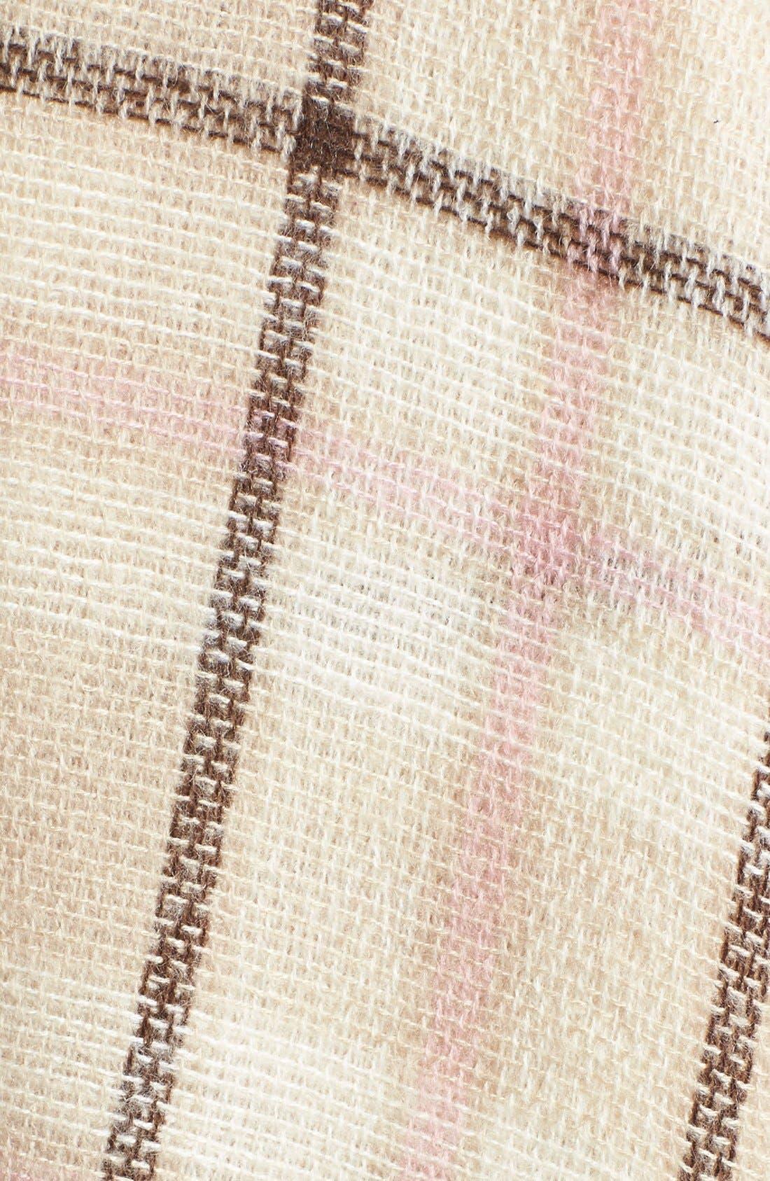 Alternate Image 3  - kate spade new york plaid blanket scarf