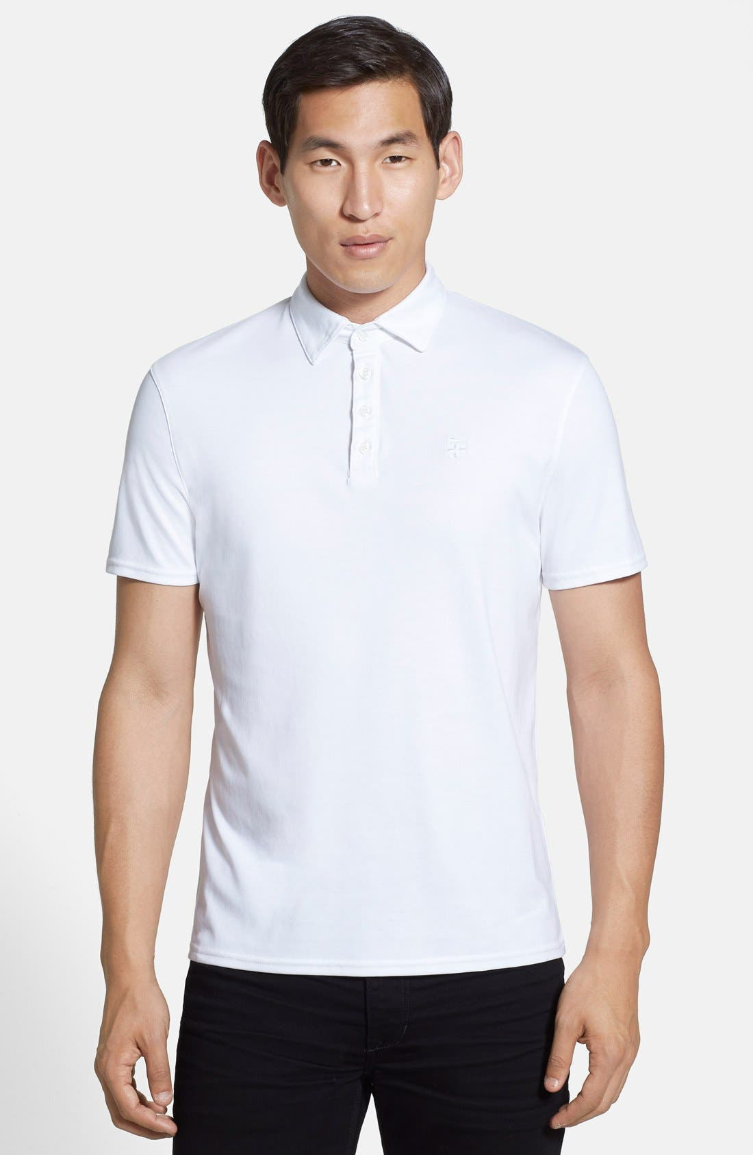 Alternate Image 1 Selected - Vince Camuto 'Crest' Slim Fit Polo