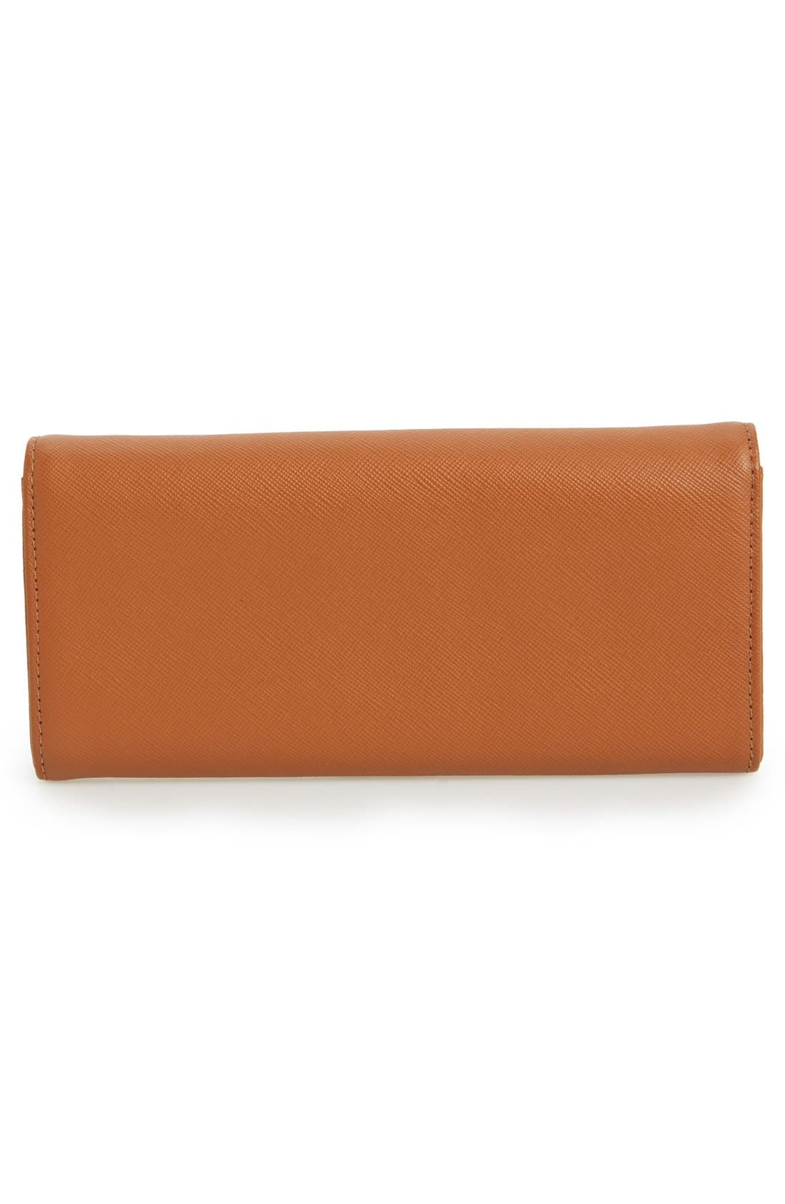 Alternate Image 3  - Tory Burch 'Robinson' Envelope Continental Wallet