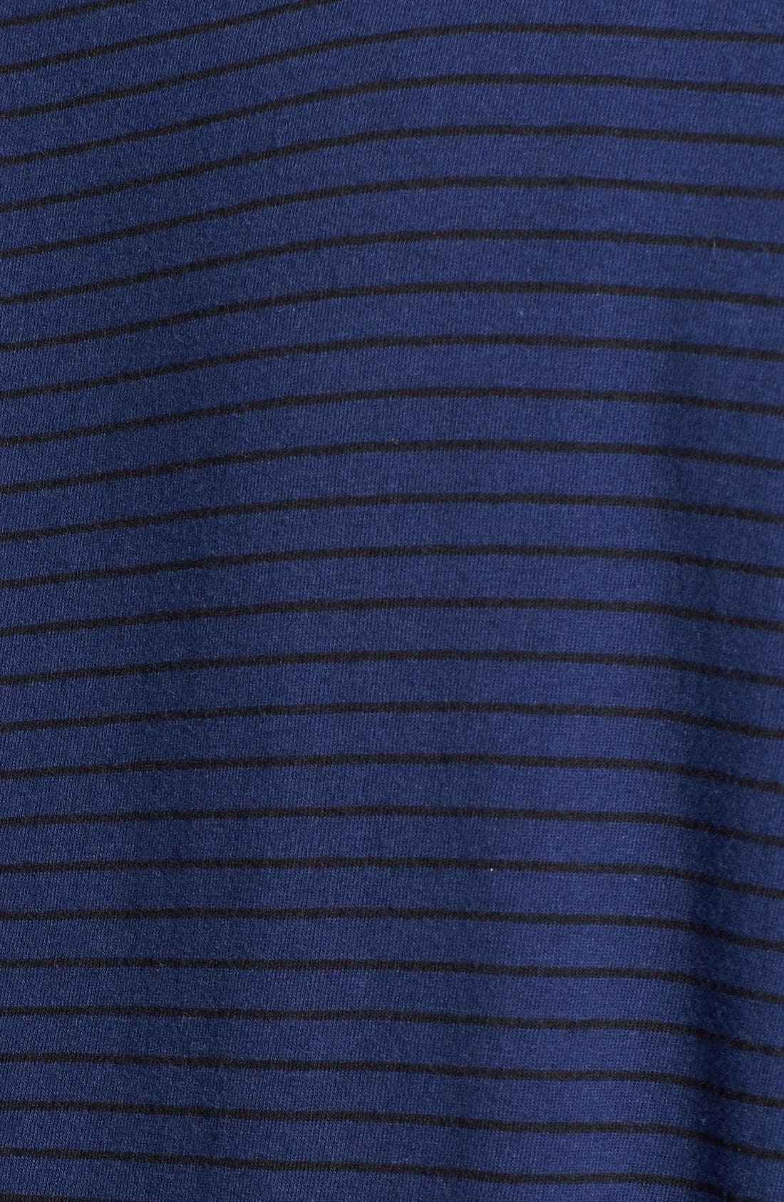 Alternate Image 3  - Sejour Stripe Jersey Tee (Plus Size)