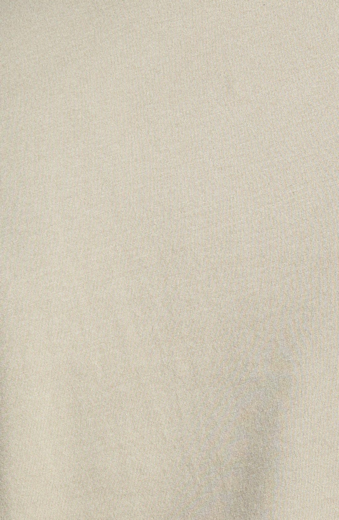 Alternate Image 3  - Caslon® Faux Shearling Lined Moto Jacket (Regular & Petite)