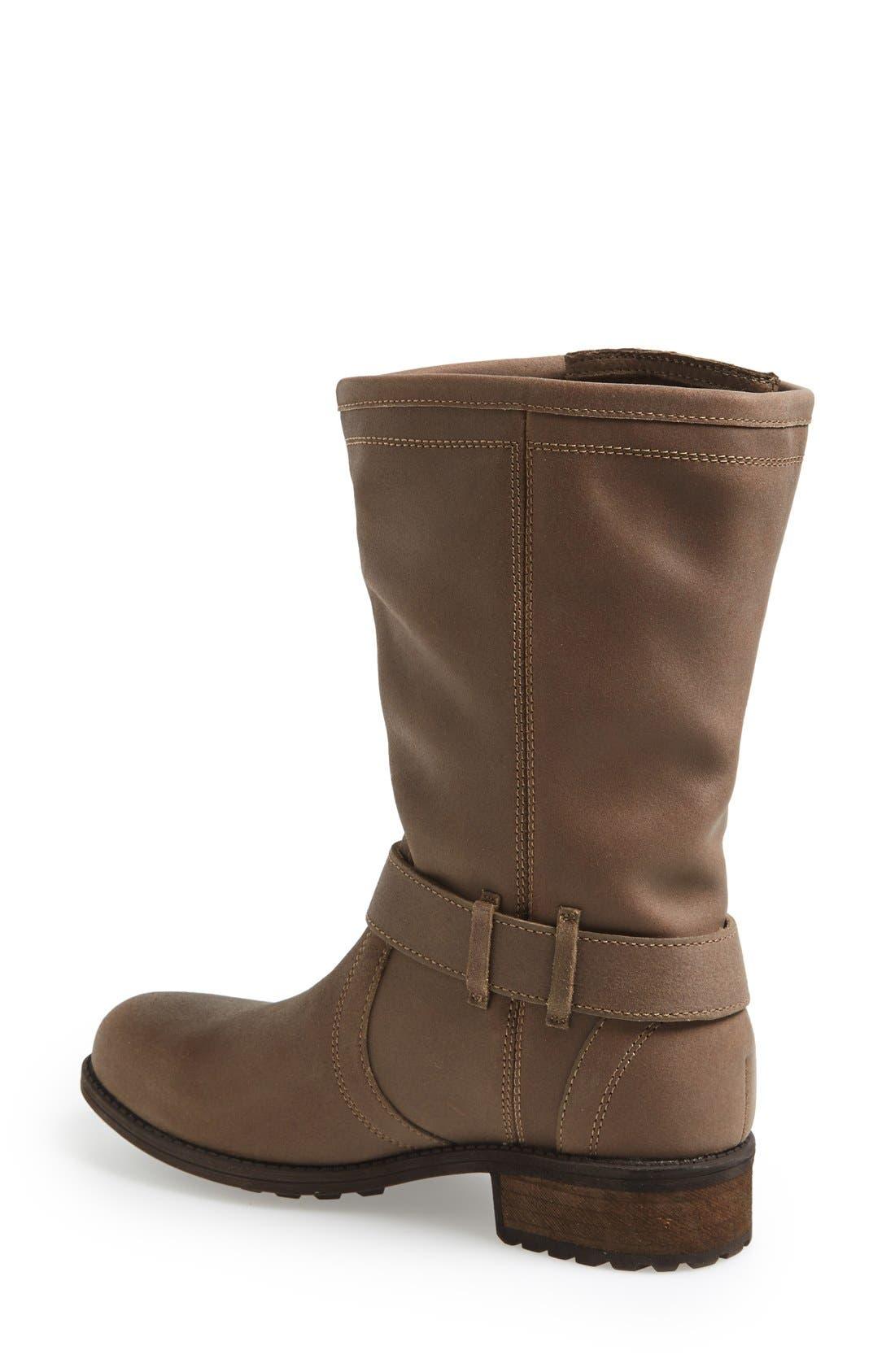 Alternate Image 2  - UGG® Australia 'Silva' Zip Gusset Boot (Women)