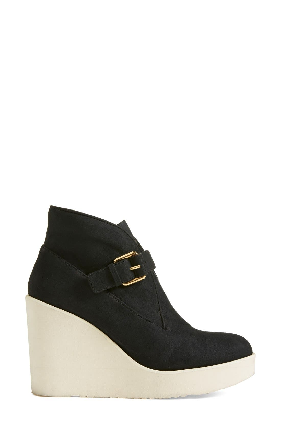 Alternate Image 4  - Stella McCartney Monk Strap Wedge Bootie (Women)