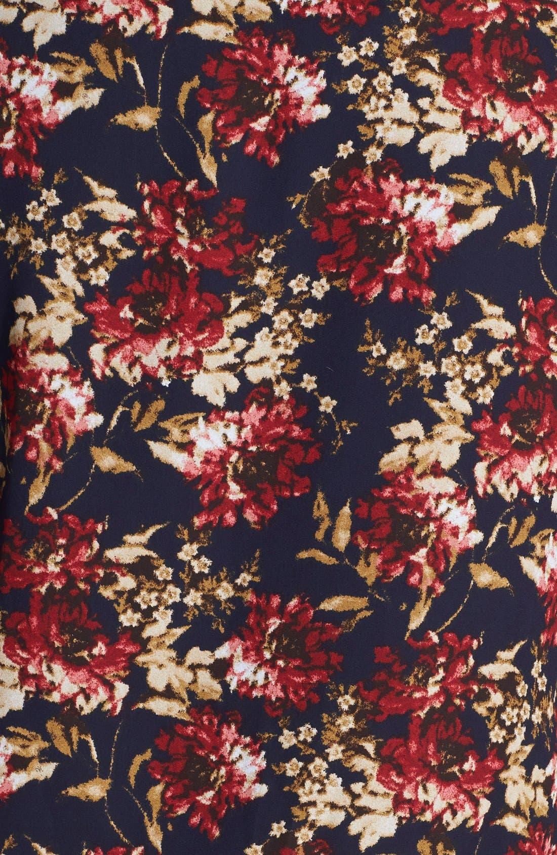 Alternate Image 4  - Olive & Oak Floral Print Bomber Jacket