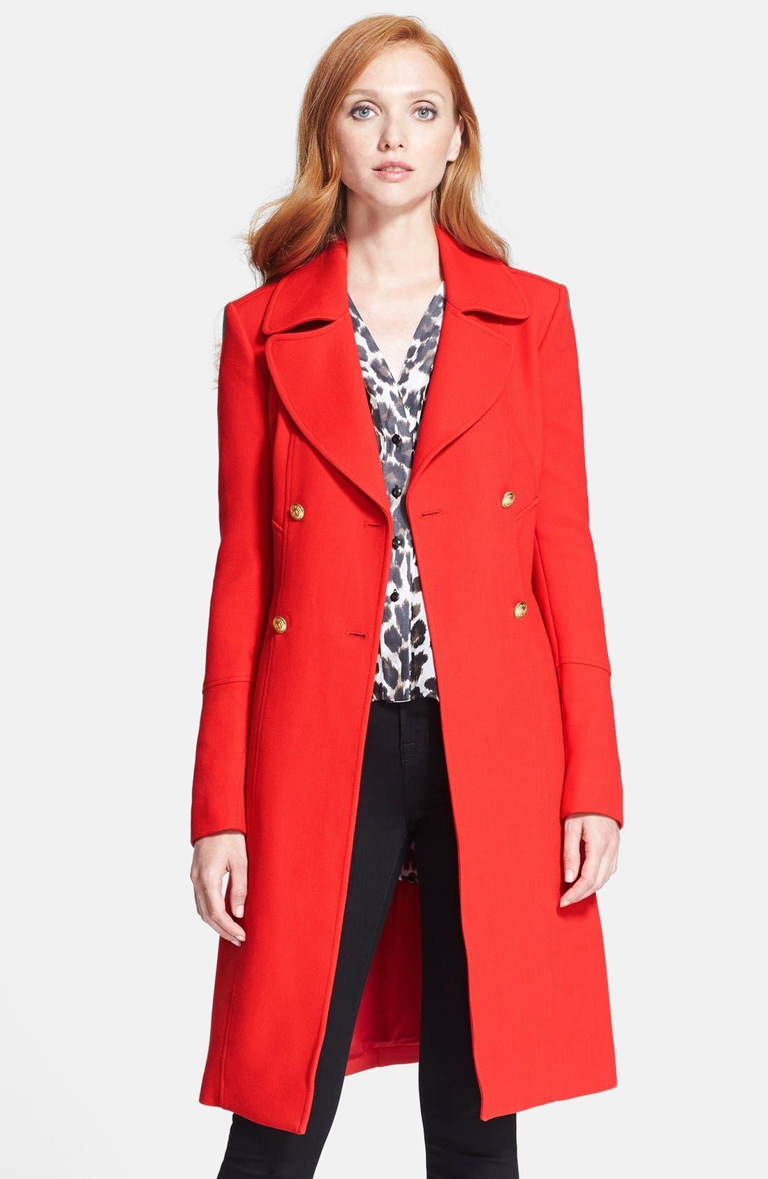 Alternate Image 4  - Diane von Furstenberg 'Mirabella' Wool Blend Coat