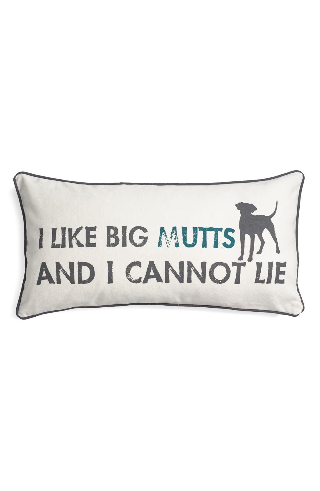 Alternate Image 1 Selected - Levtex 'I Like Big Mutts' Pillow