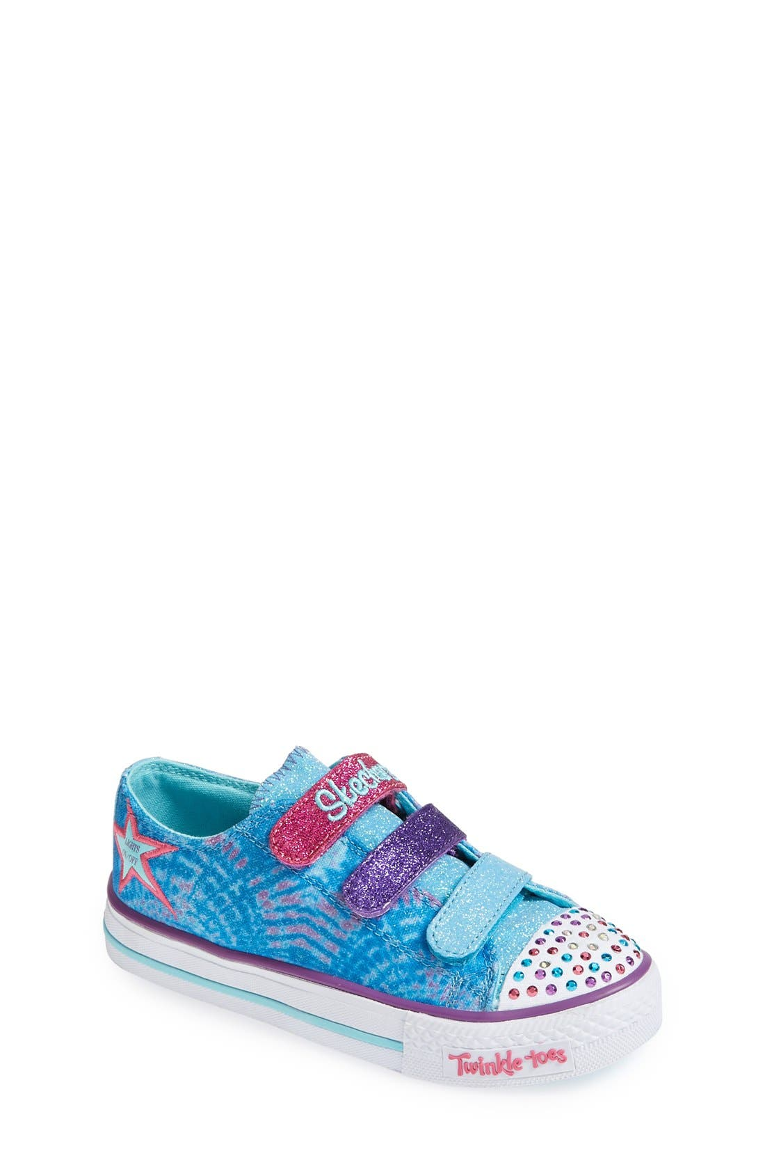 Alternate Image 1 Selected - SKECHERS 'Twinkle Toes' Light-Up Sneaker (Toddler & Little Kid)
