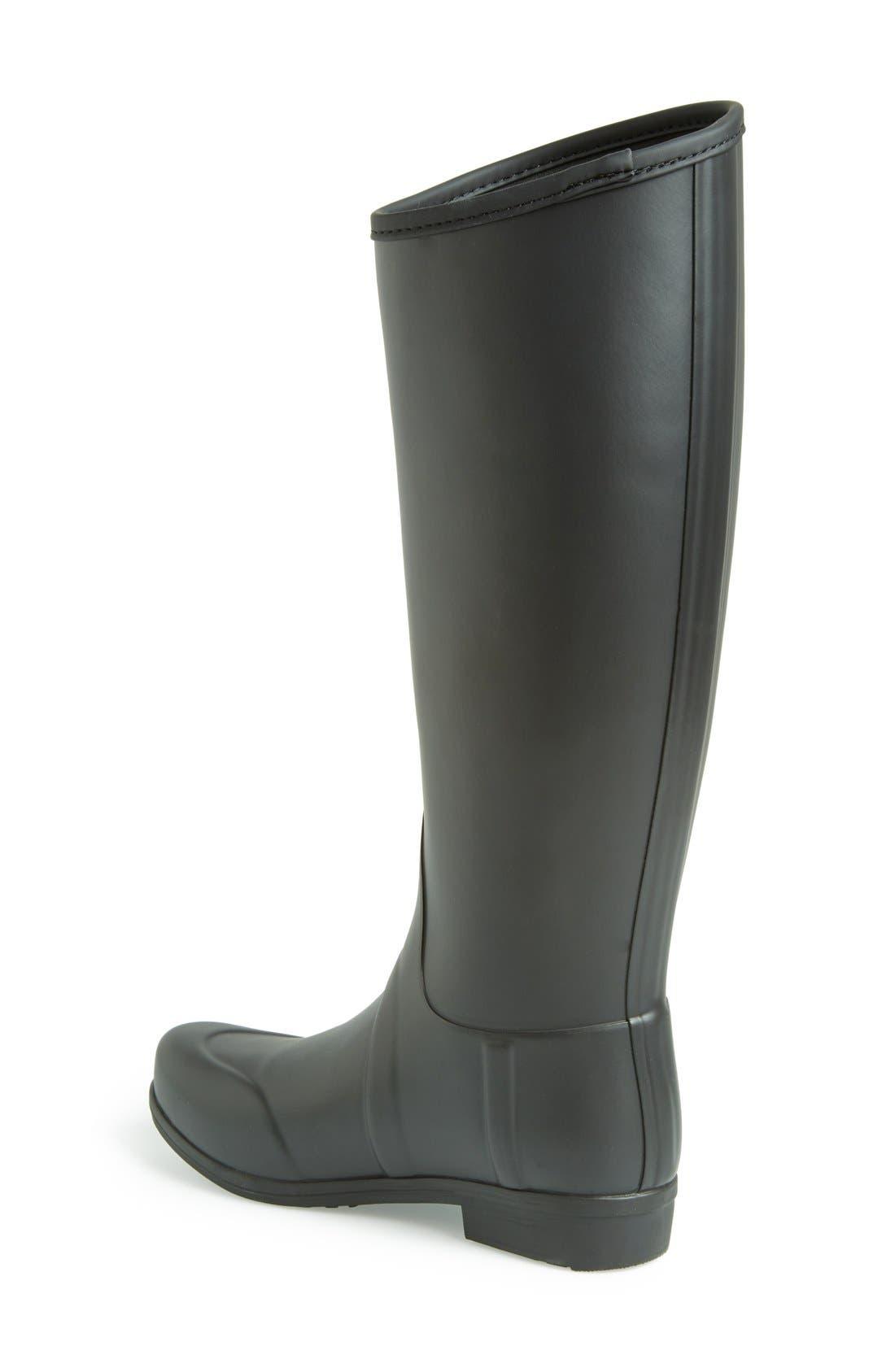 Alternate Image 2  - Hunter 'Sandhurst' Tall Rain Boot (Women)