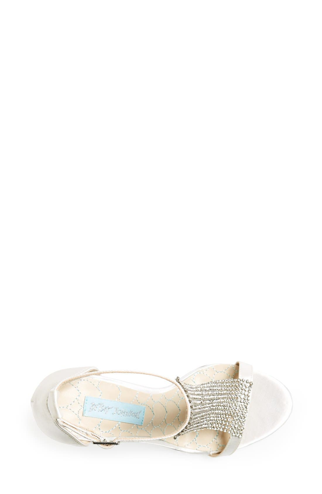 Alternate Image 3  - Blue by Betsey Johnson 'Mesh' Sandal (Women)