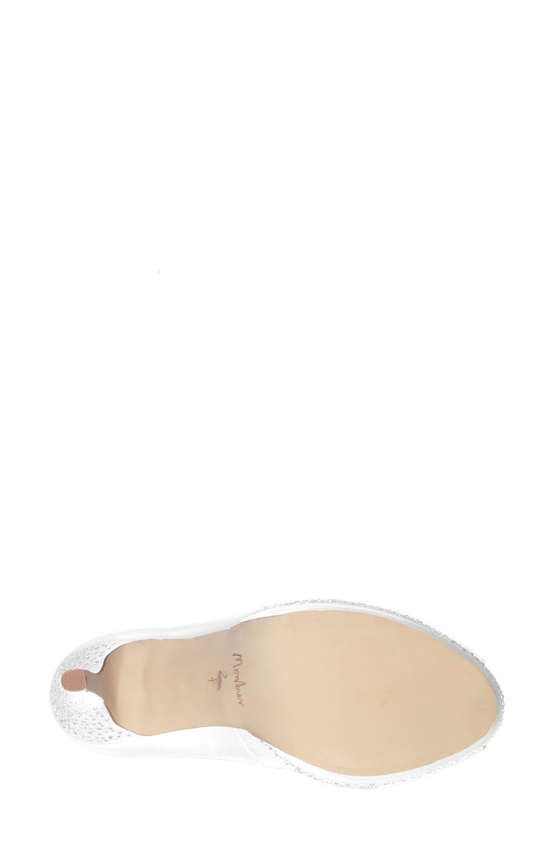 Alternate Image 4  - Menbur 'Julia' Peep Toe Pump (Women)