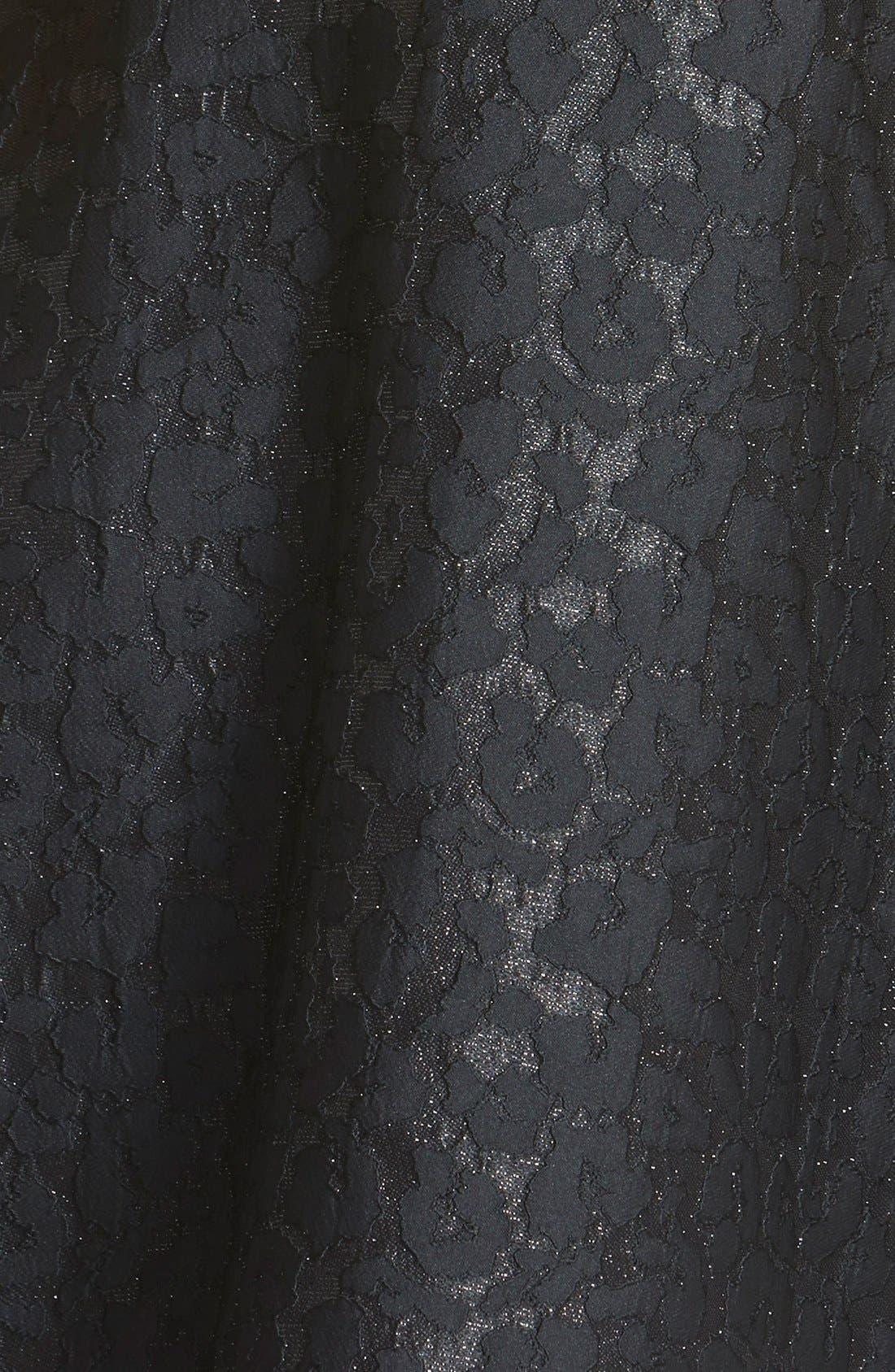 Alternate Image 3  - ASTR Jacquard Fit & Flare Dress