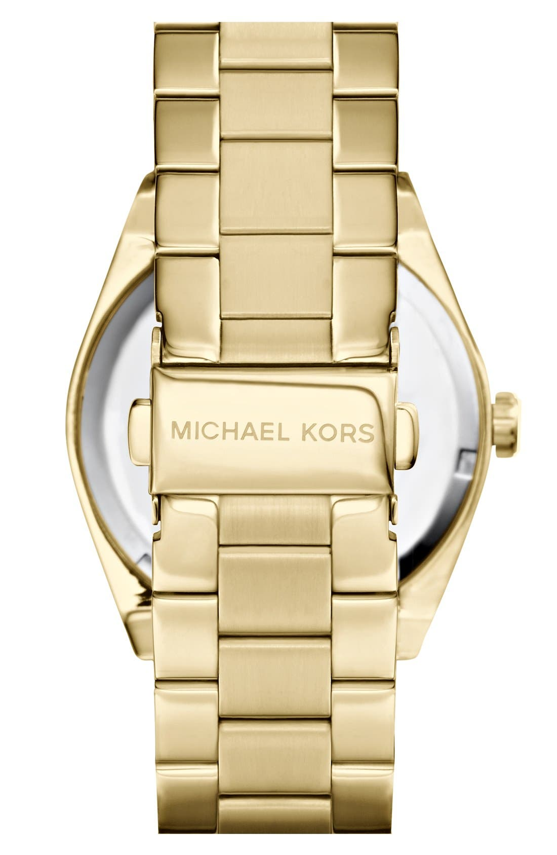 Alternate Image 2  - Michael Kors 'Channing' Turquoise Dial Bracelet Watch, 38mm