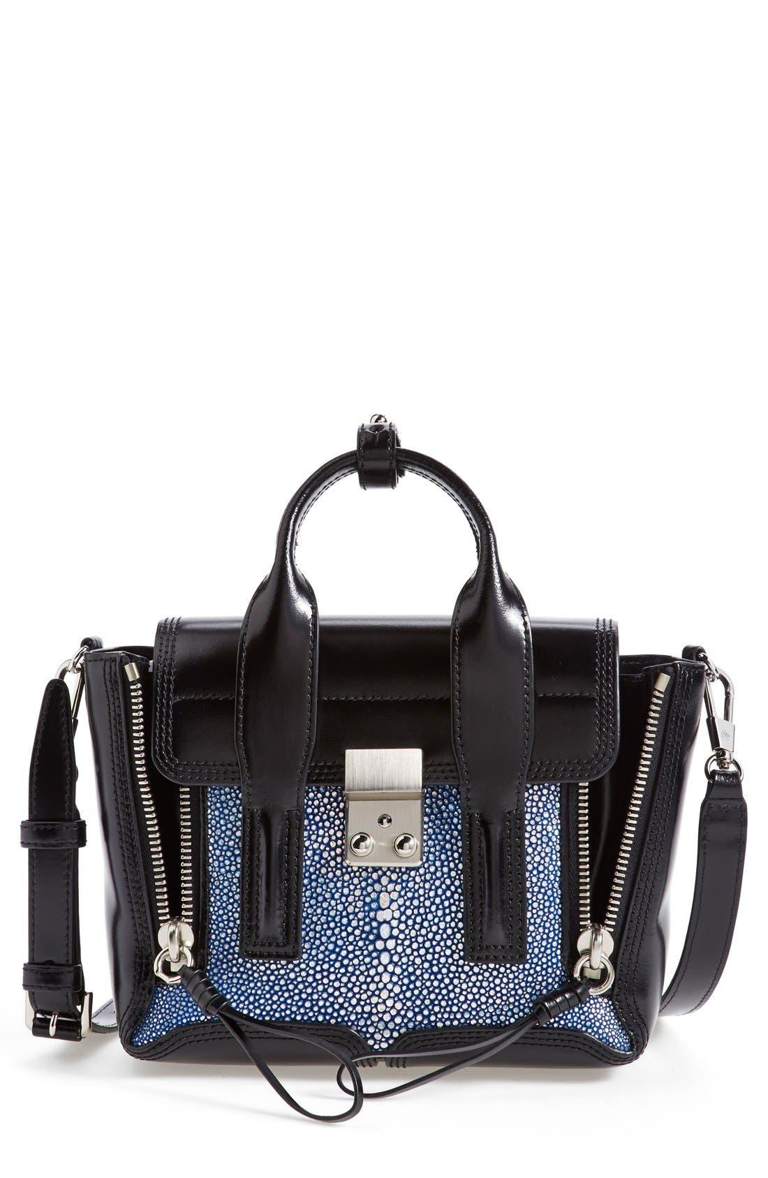 Main Image - 3.1 Phillip Lim 'Pashli Mini' Leather & Stingray Satchel