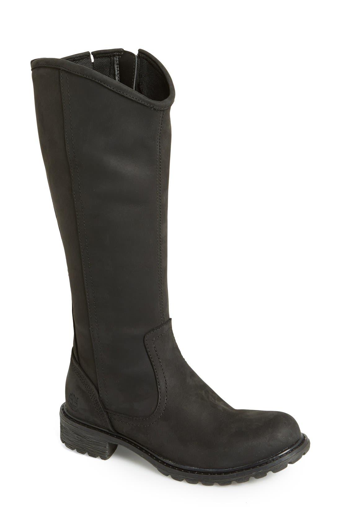 Alternate Image 1 Selected - Timberland Earthkeepers® 'Stoddard' Tall Waterproof Boot (Women)
