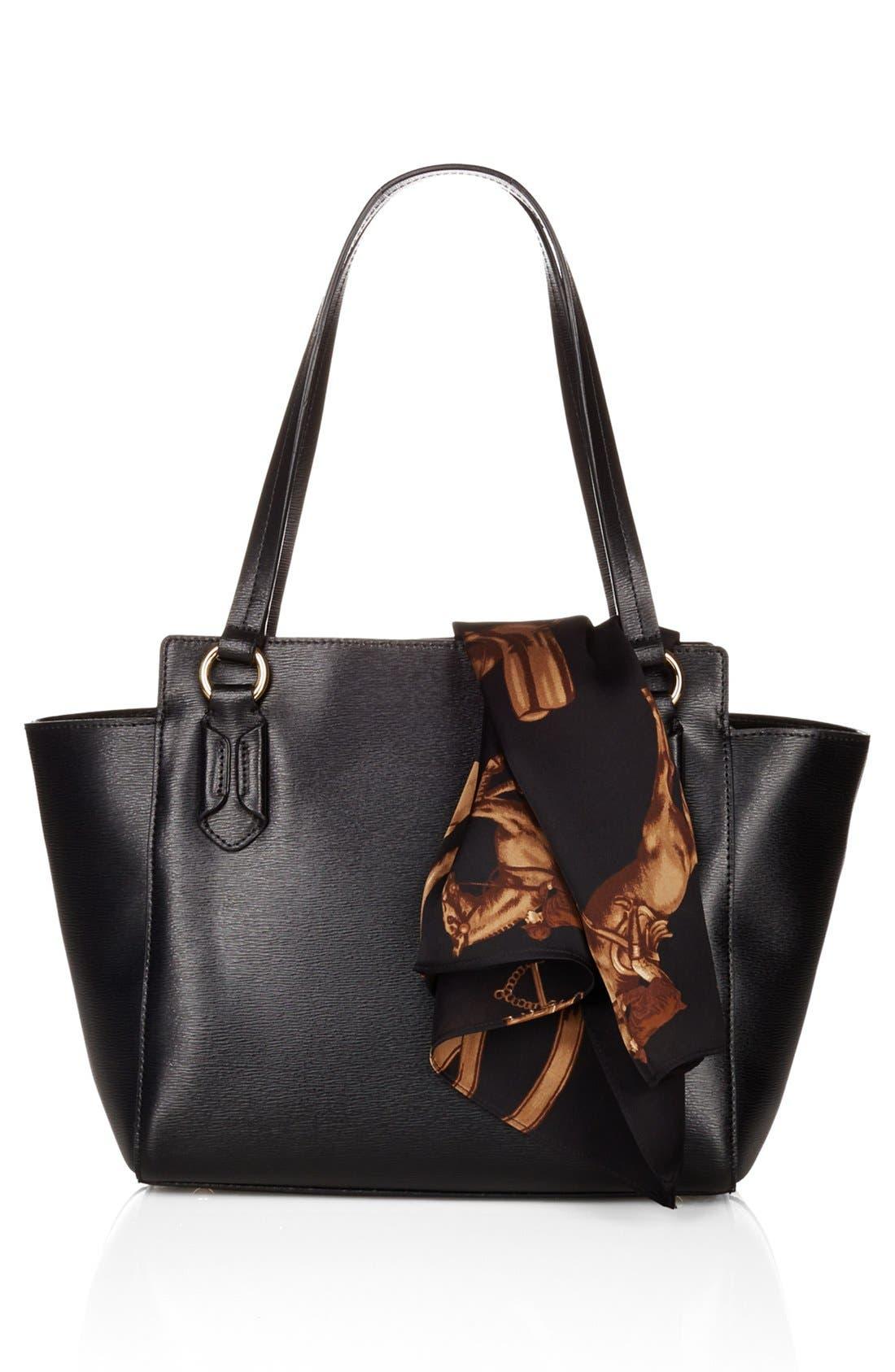 Alternate Image 2  - Lauren Ralph Lauren 'Tate' Leather Shopper