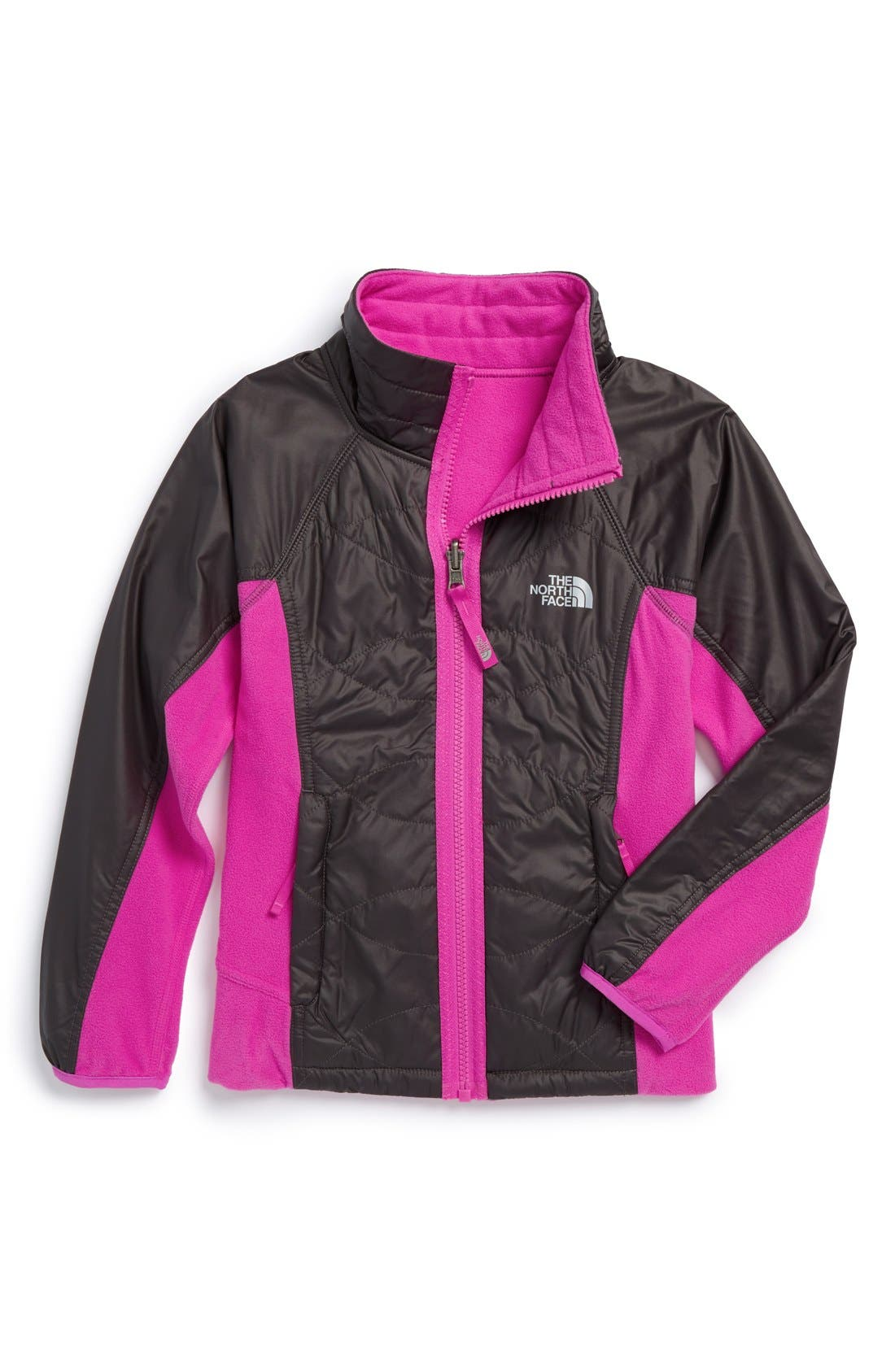 Alternate Image 1 Selected - The North Face 'Madison' Reversible Jacket (Big Girl)