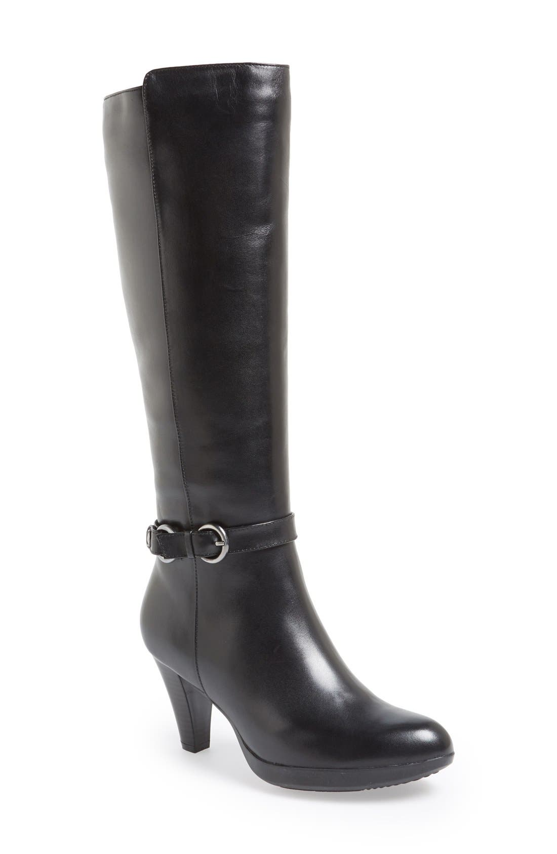 Alternate Image 1 Selected - Blondo 'Ilanna' Knee High Leather Boot (Women)