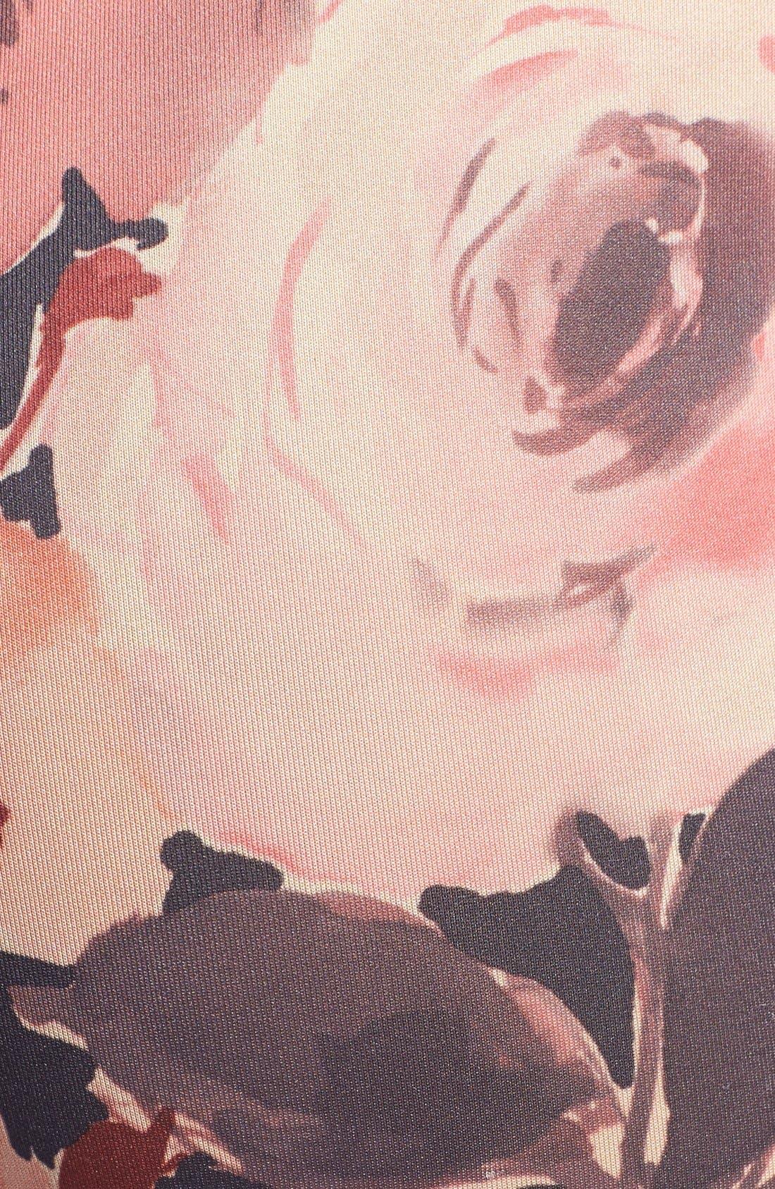 Alternate Image 3  - Oroblu 'Flower' Print Leggings
