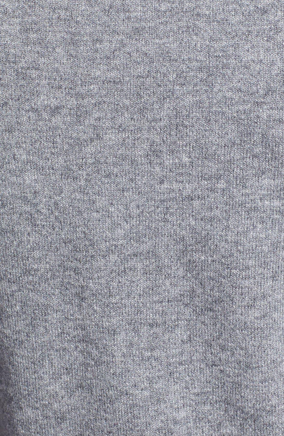 Alternate Image 3  - Nordstrom Collection Long Cashmere Turtleneck Sweater