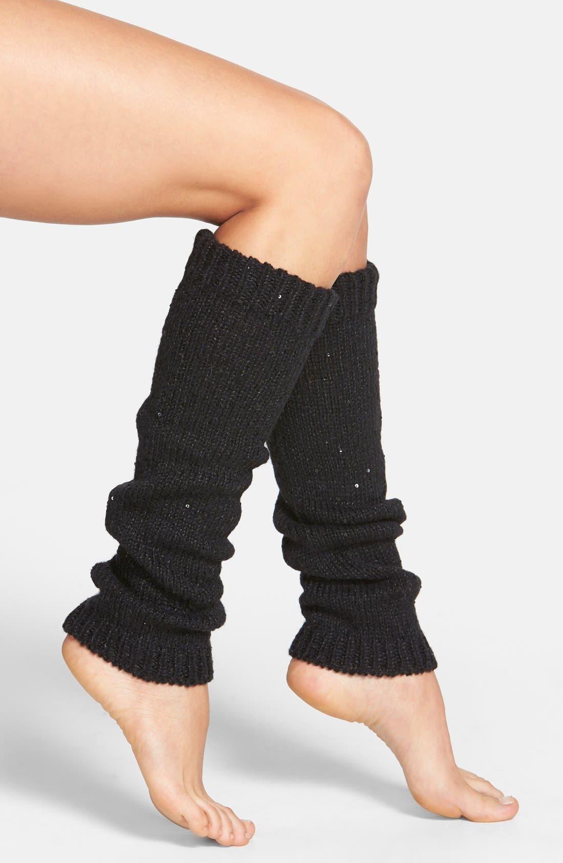 Main Image - DKNY Sequin Leg Warmers