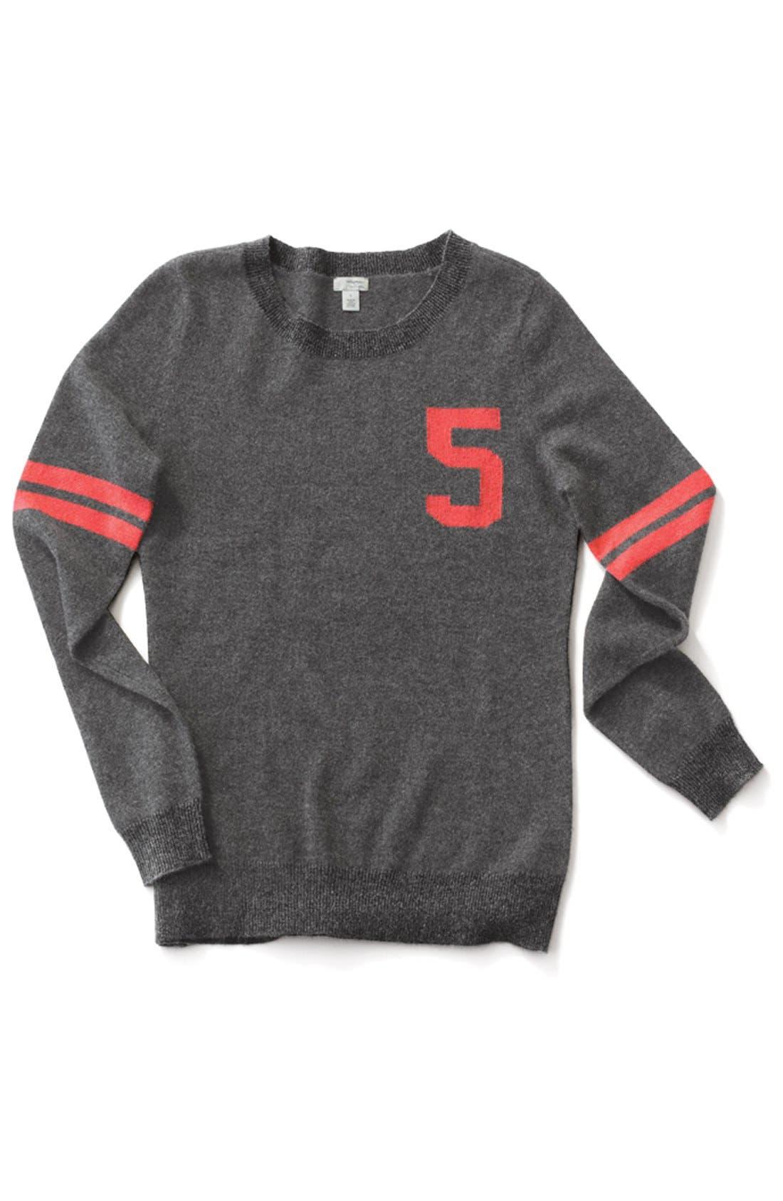 Alternate Image 7  - Halogen® Cashmere Crewneck Sweater (Regular & Petite)