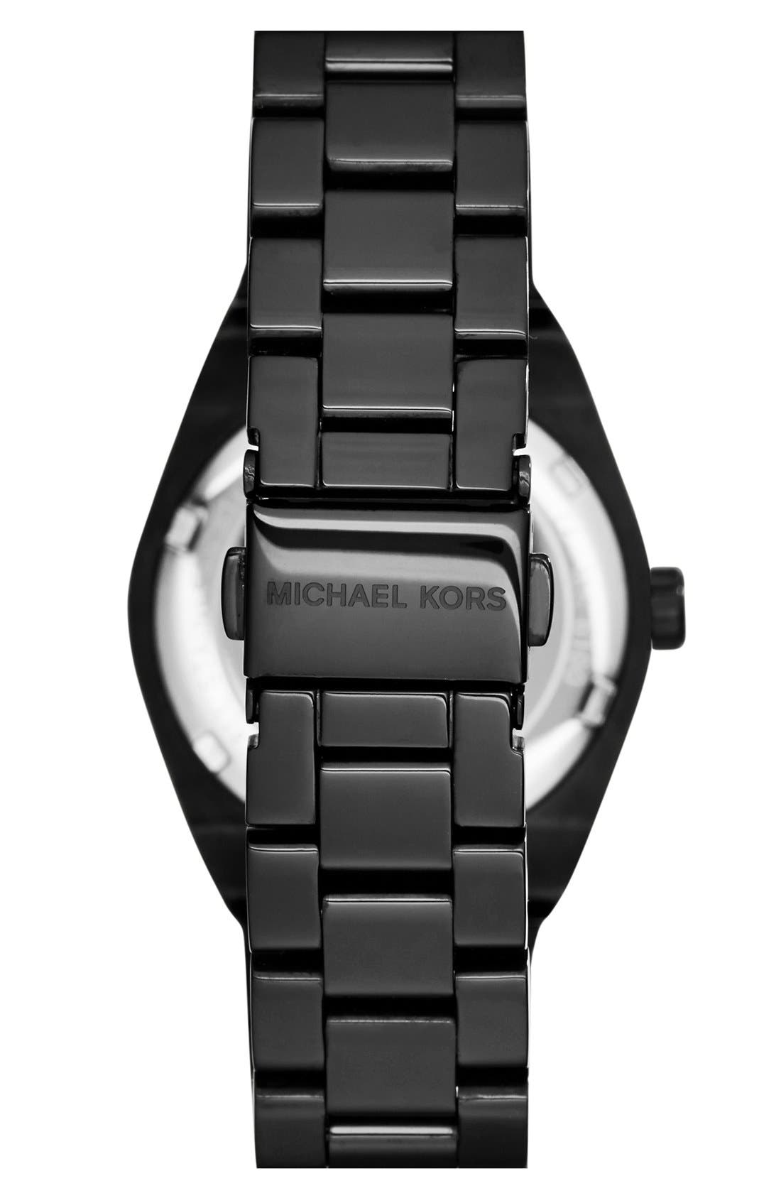 Alternate Image 2  - Michael Kors 'Mini Channing' Round Bracelet Watch, 33mm