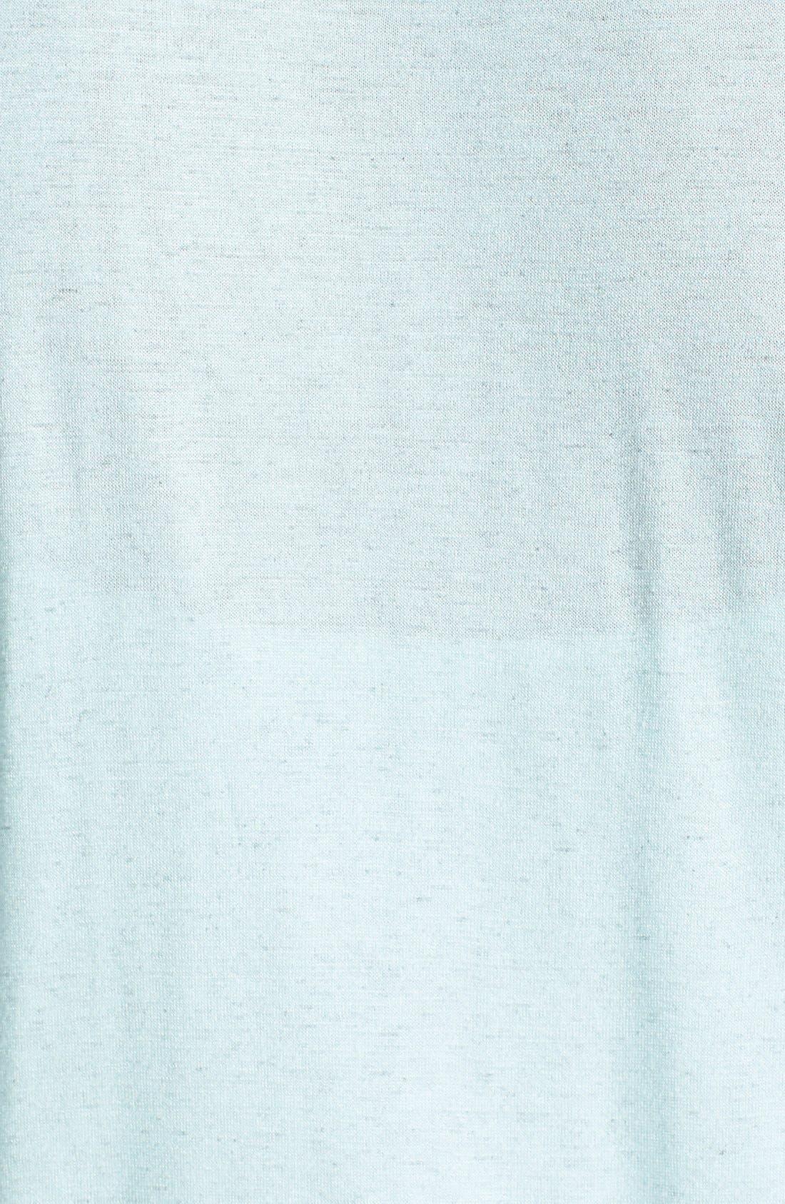 Alternate Image 3  - Bobeau Drape Twist Top