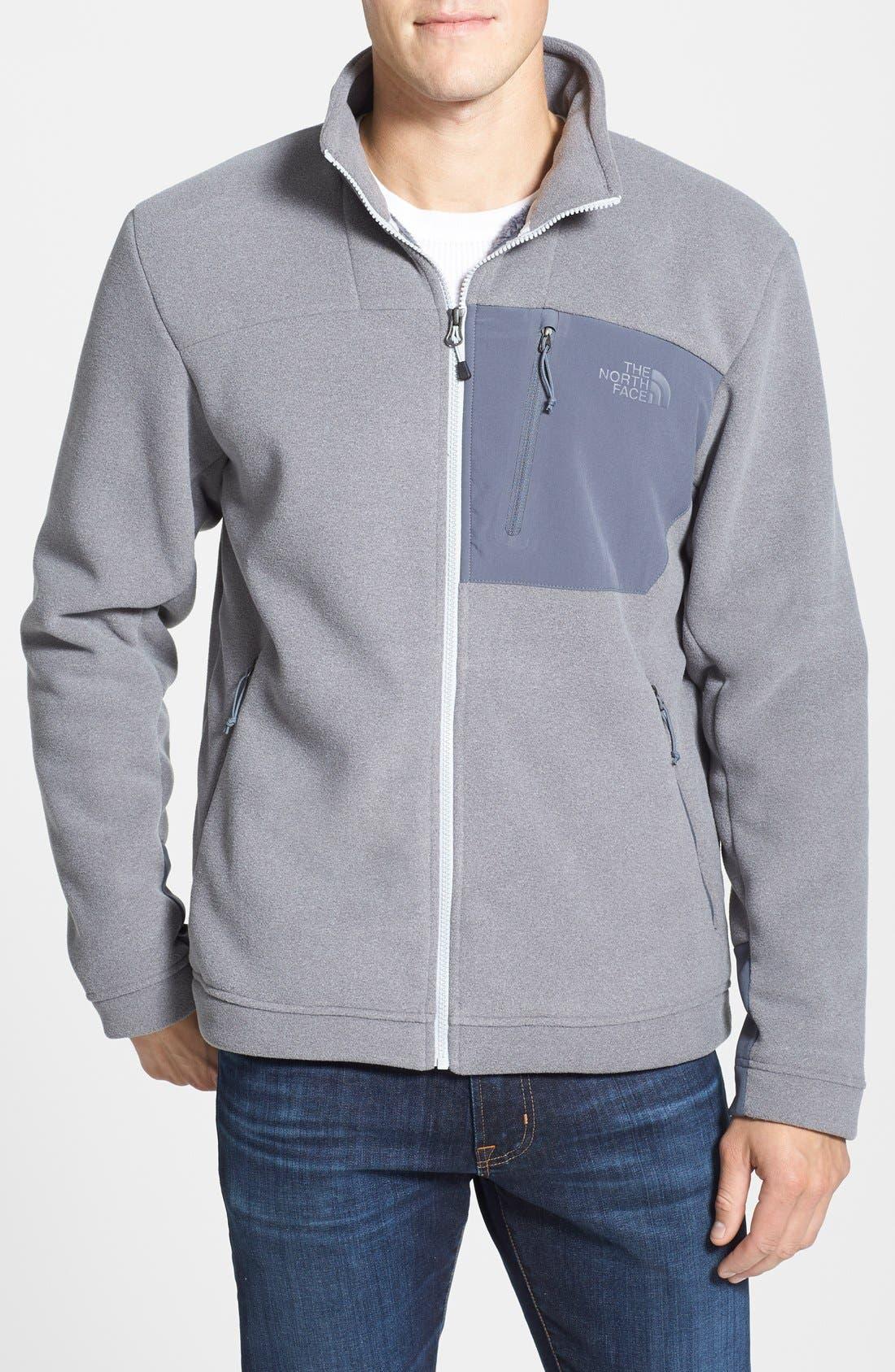 Main Image - The North Face 'Chimborazo' Zip Front Fleece Jacket