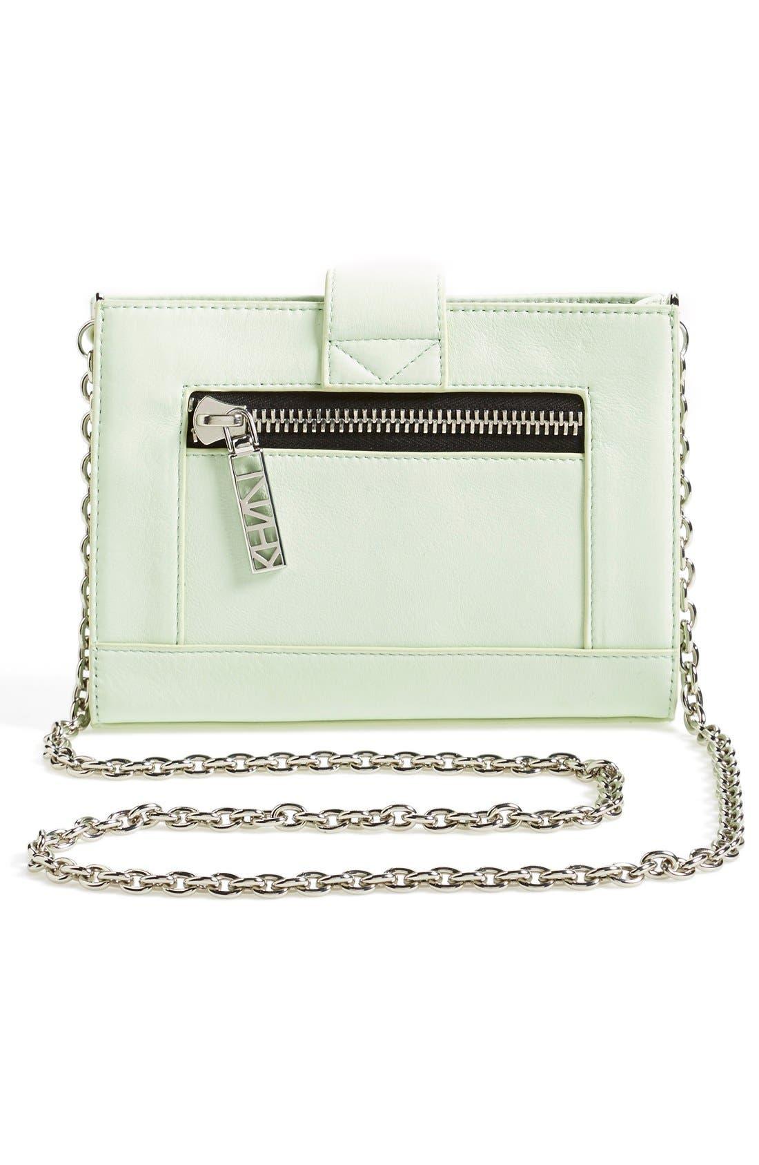 Alternate Image 3  - KENZO 'Kalifornia' Leather Wallet on a Chain