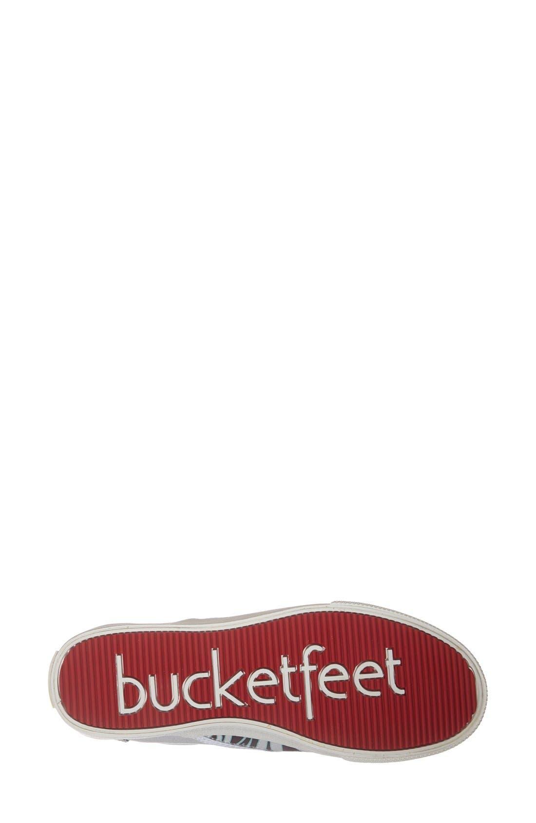 Alternate Image 4  - BucketFeet 'Tatau' Slip-On Canvas Sneaker (Women)