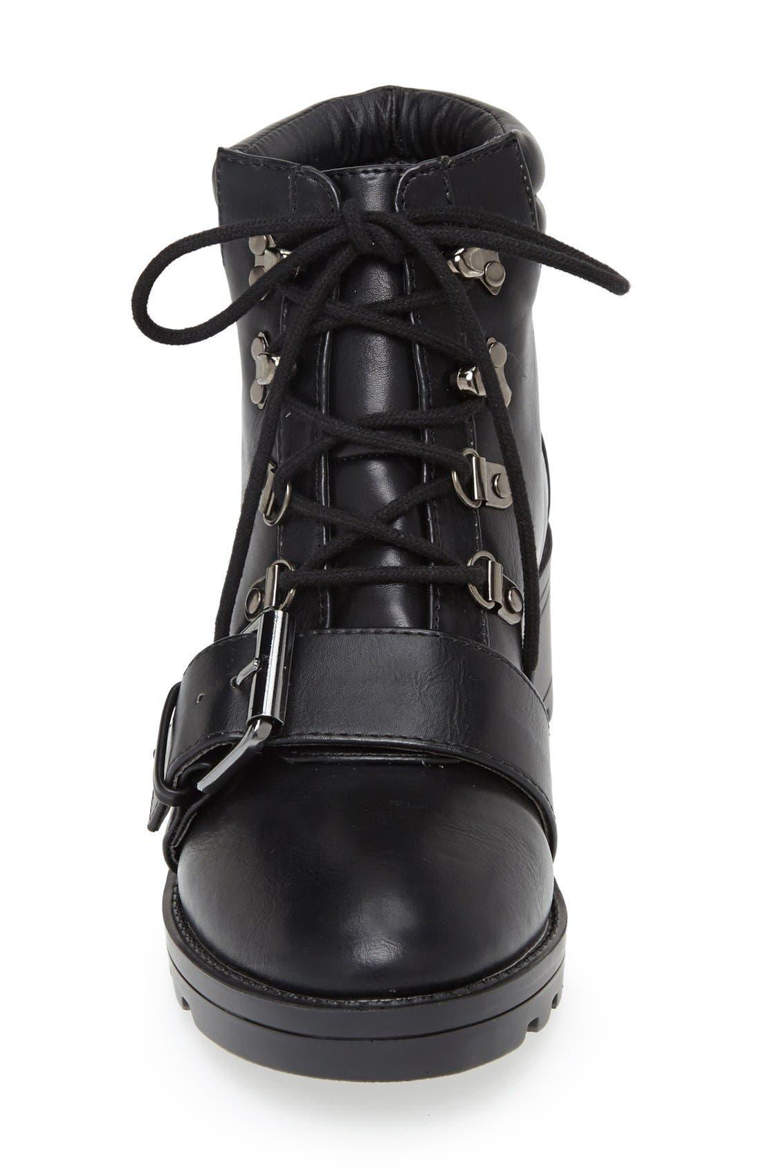 Alternate Image 3  - Topshop Bunk Hiker Boot (Women)