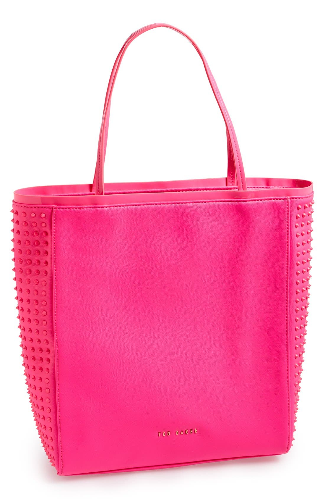 Main Image - Ted Baker London 'Studded Crosshatch' Tote