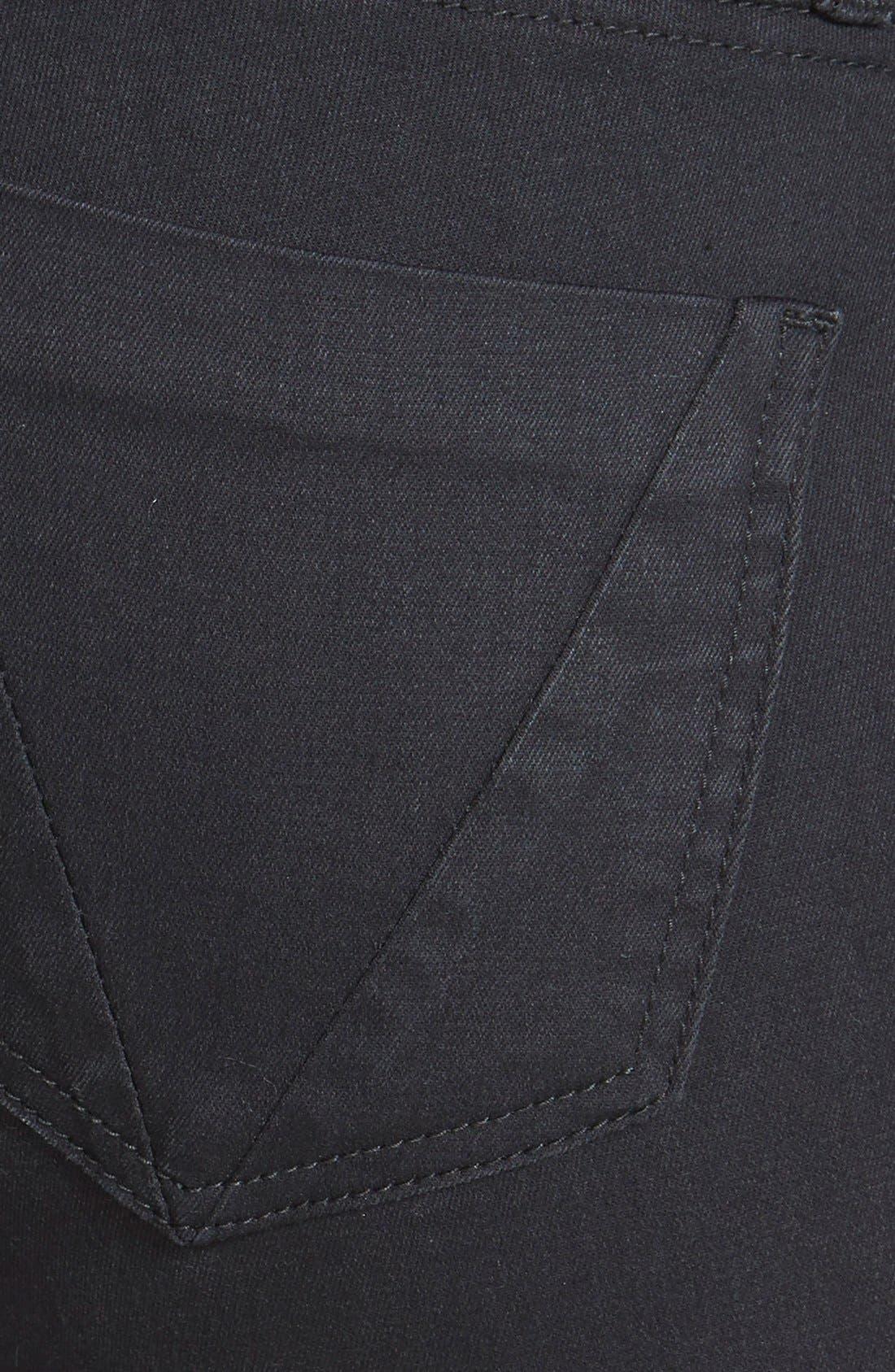Alternate Image 3  - STS Blue Stretch Skinny Jeans (Black)