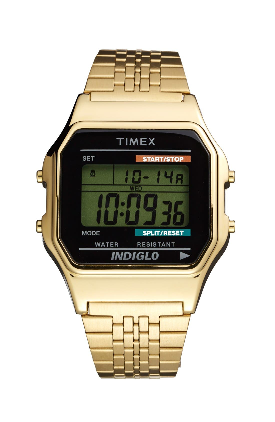 Alternate Image 1 Selected - Timex® '80 Classic' Digital Bracelet Watch, 34mm