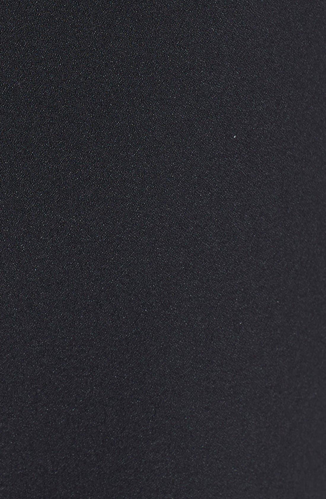 Alternate Image 3  - June & Hudson Scallop Hem Fit & Flare Dress