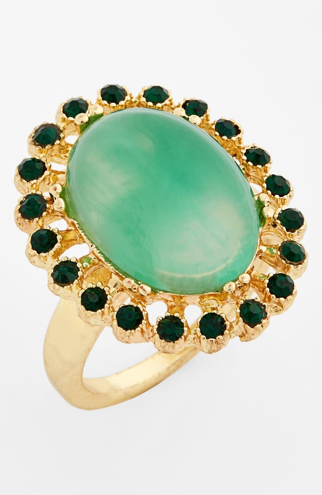 Alternate Image 1 Selected - Topshop Stone Ring
