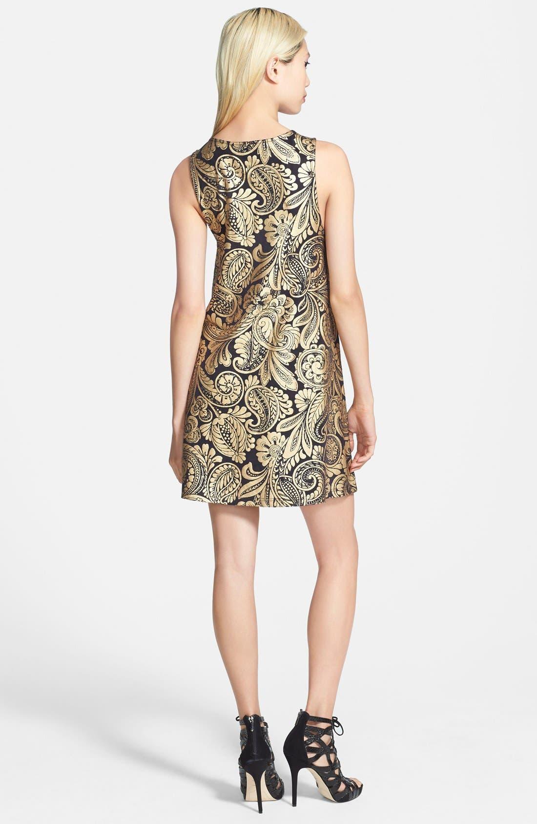 Alternate Image 2  - MINKPINK 'Parisian Gold' Swing Dress