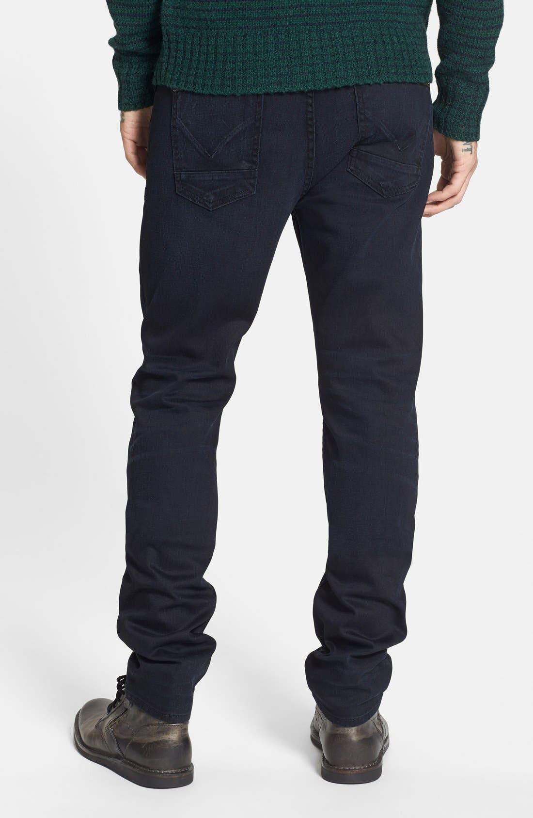Alternate Image 2  - Hudson Jeans 'Sartor' Slouchy Skinny Fit Jeans (Sanction)
