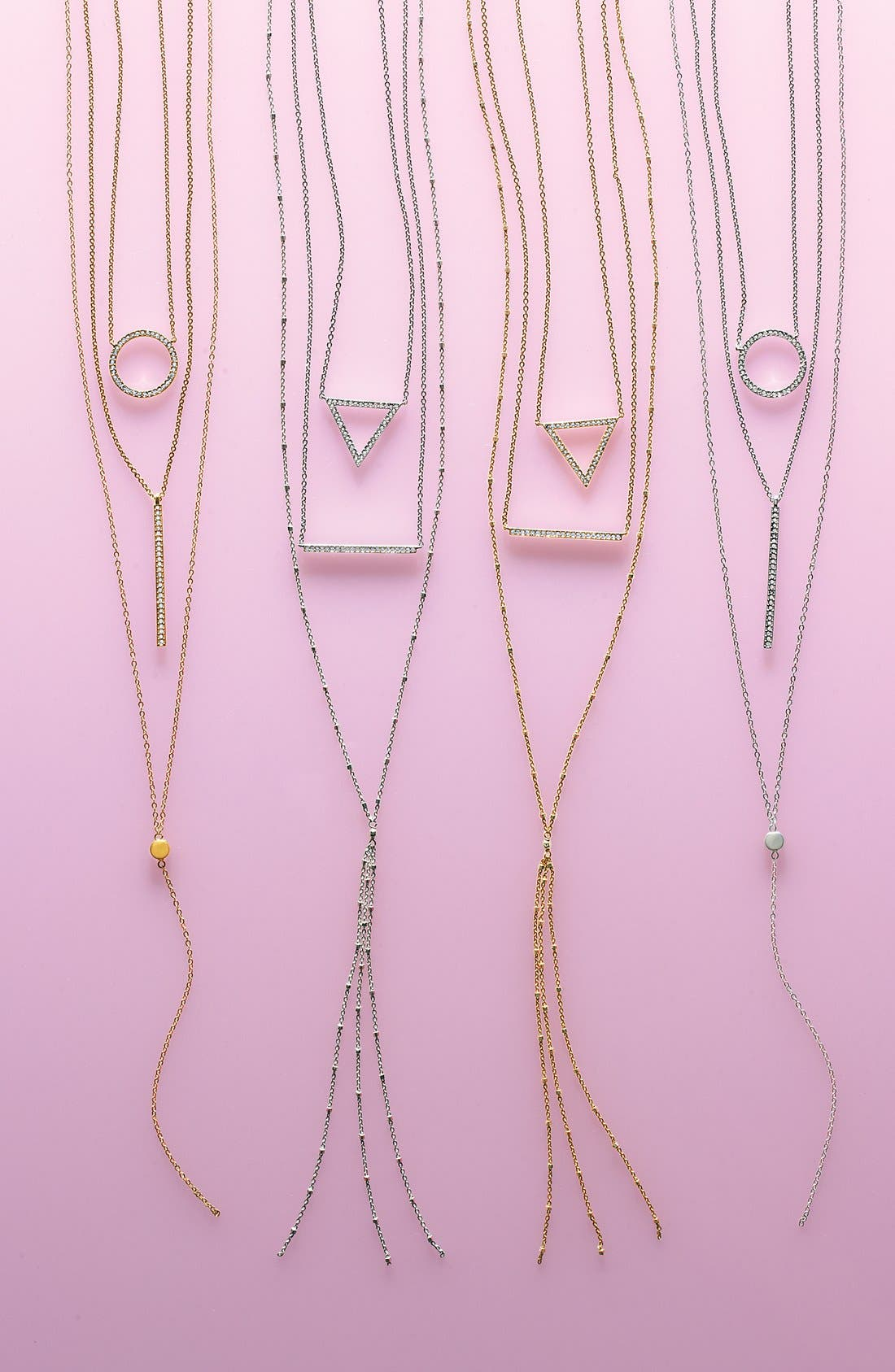 Alternate Image 3  - Nadri Bar Pendant Necklace