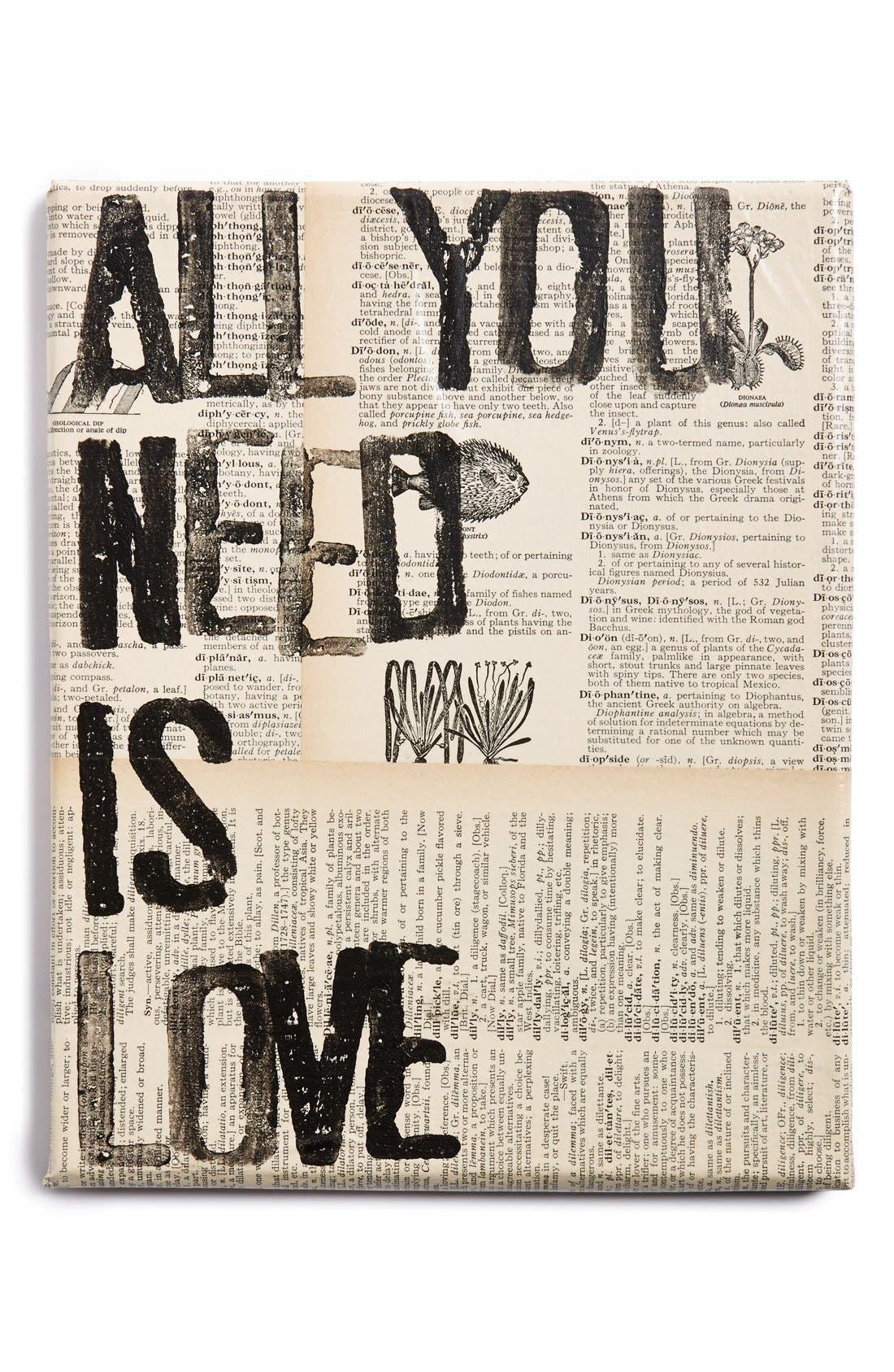 Alternate Image 1 Selected - Canton Box Co. 'All You Need Is Love' Wall Art