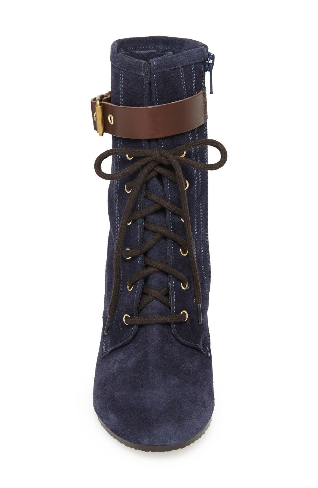 Alternate Image 3  - André Assous Suede Wedge Boot (Women)