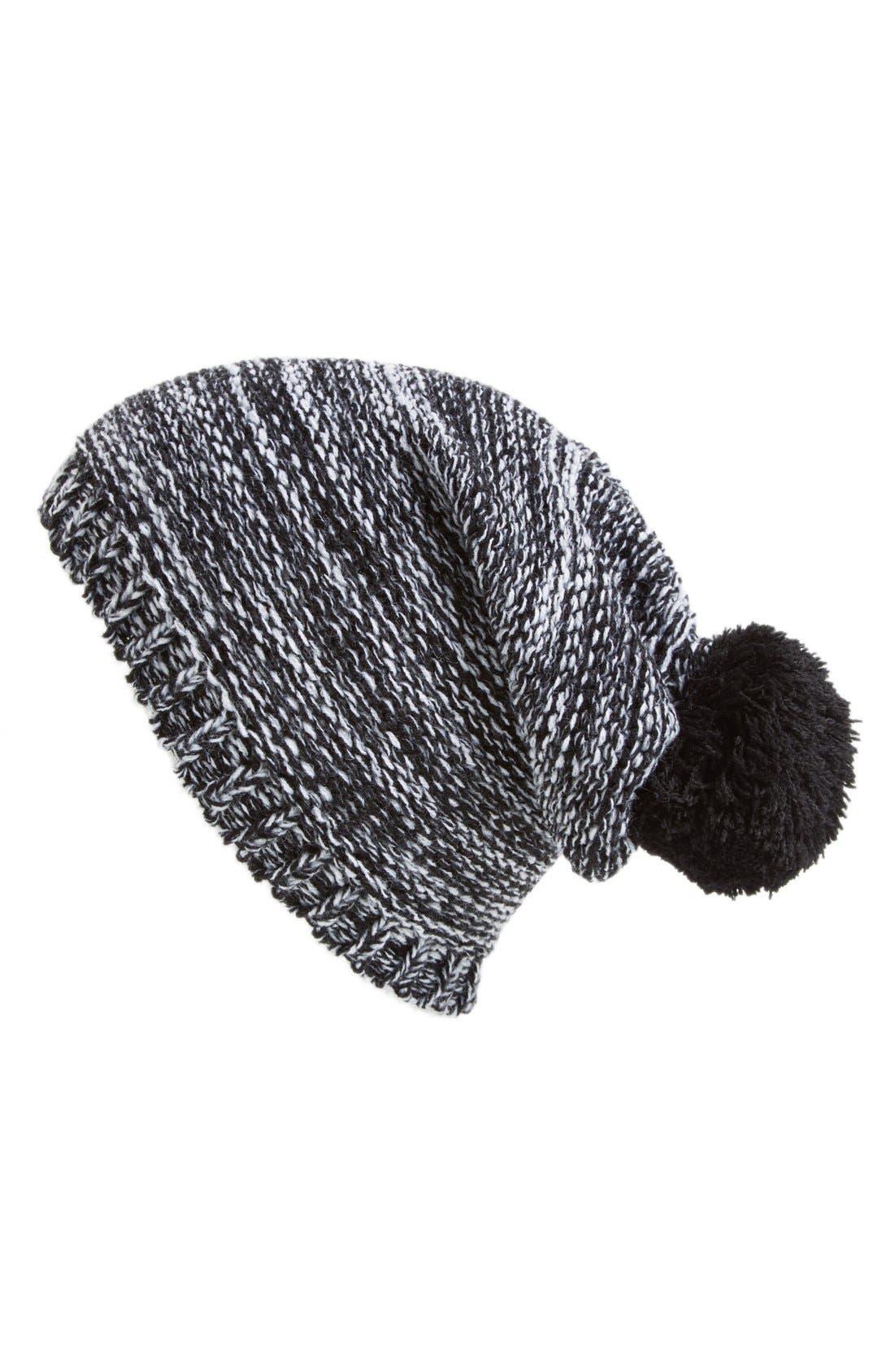 Main Image - Capelli of New York Marled Knit Beanie (Juniors)
