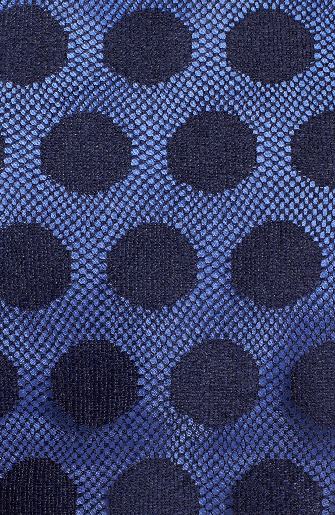 Alternate Image 4  - Betsey Johnson Dot Print Lace Pop Over Dress