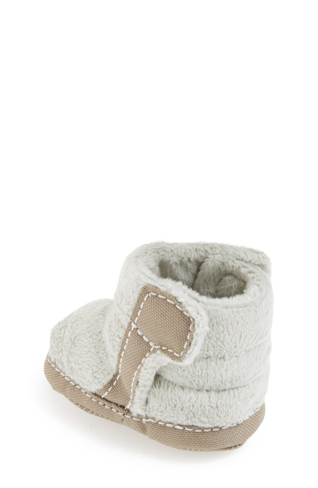 Alternate Image 2  - The North Face Fleece Bootie (Baby & Walker)