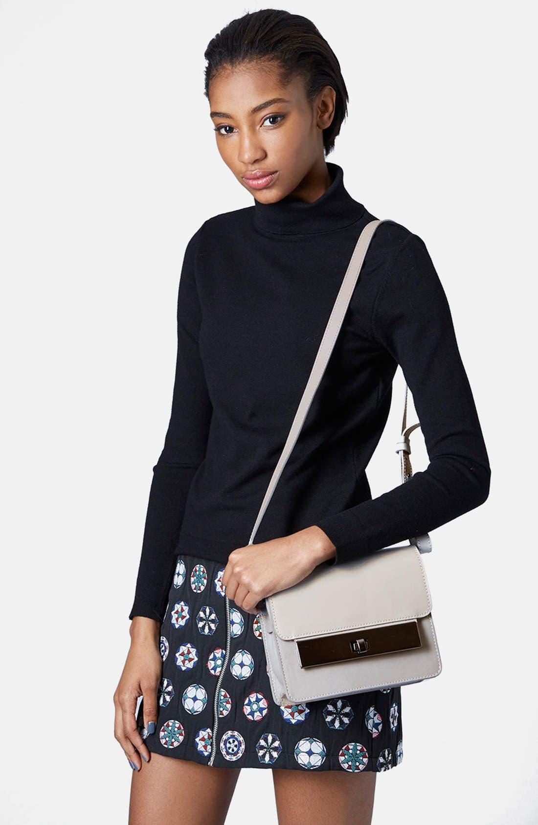 Alternate Image 2  - Topshop Premium Plate Shoulder Bag