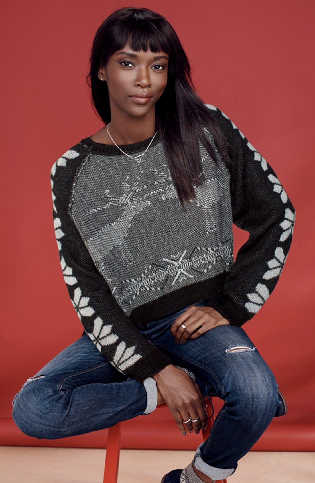 Alternate Image 4  - Hinge Intarsia Seasonal Sweater