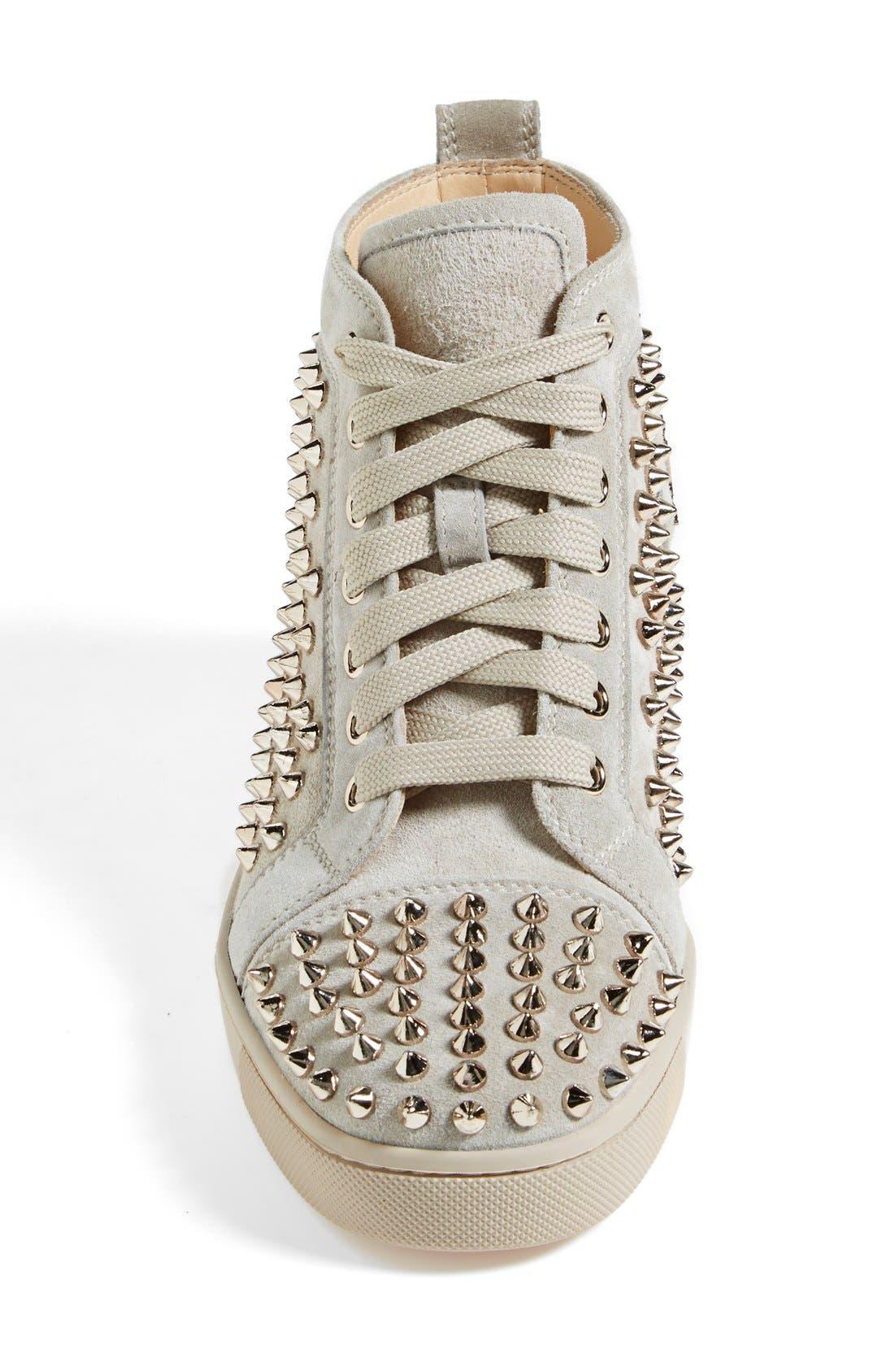 Alternate Image 3  - Christian Louboutin 'Louis' Spiked Sneaker
