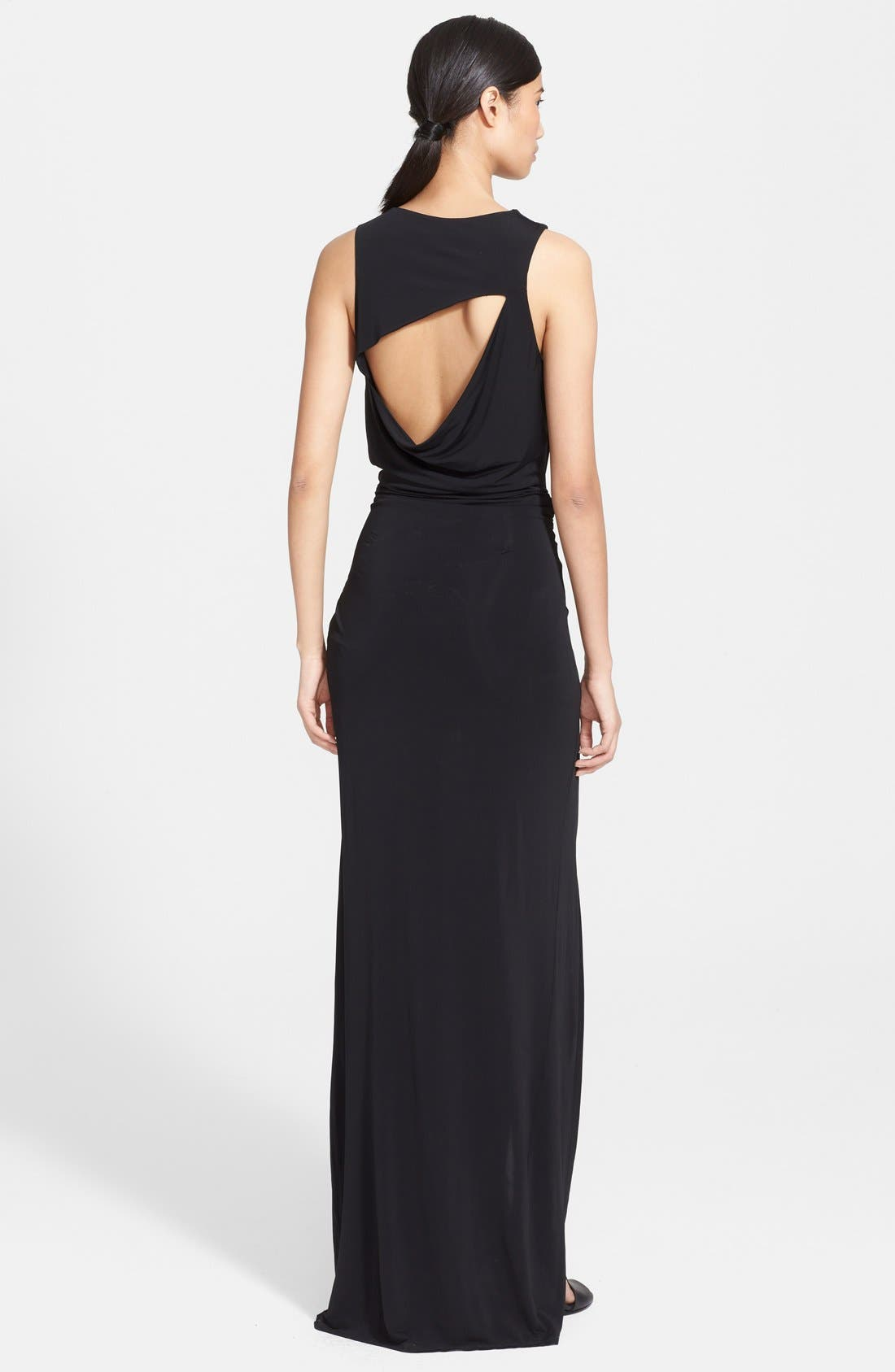 Alternate Image 2  - Helmut Lang Cutout Back Maxi Dress