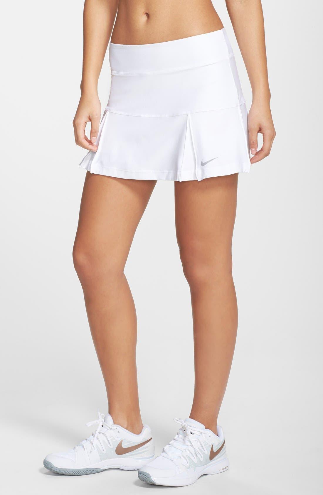 Alternate Image 1 Selected - Nike Pleated Dri-FIT Tennis Skirt